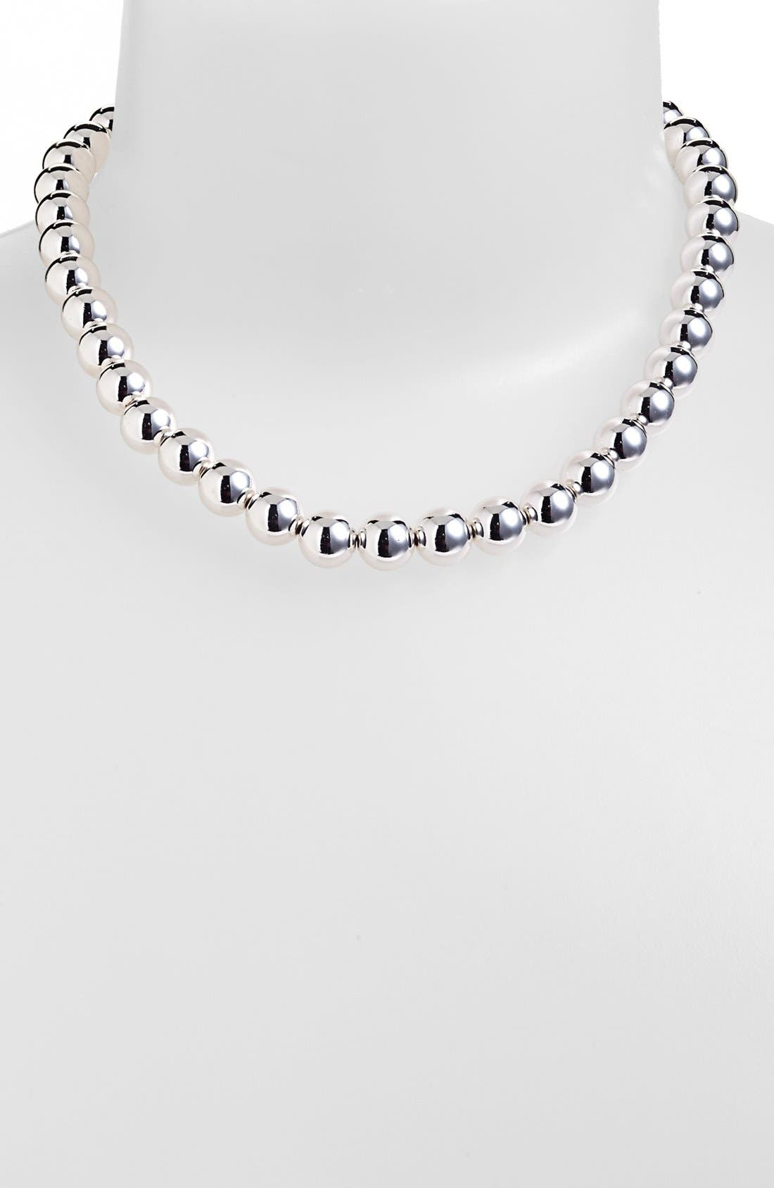 Alternate Image 1 Selected - Lauren Ralph Lauren Metal Bead Necklace