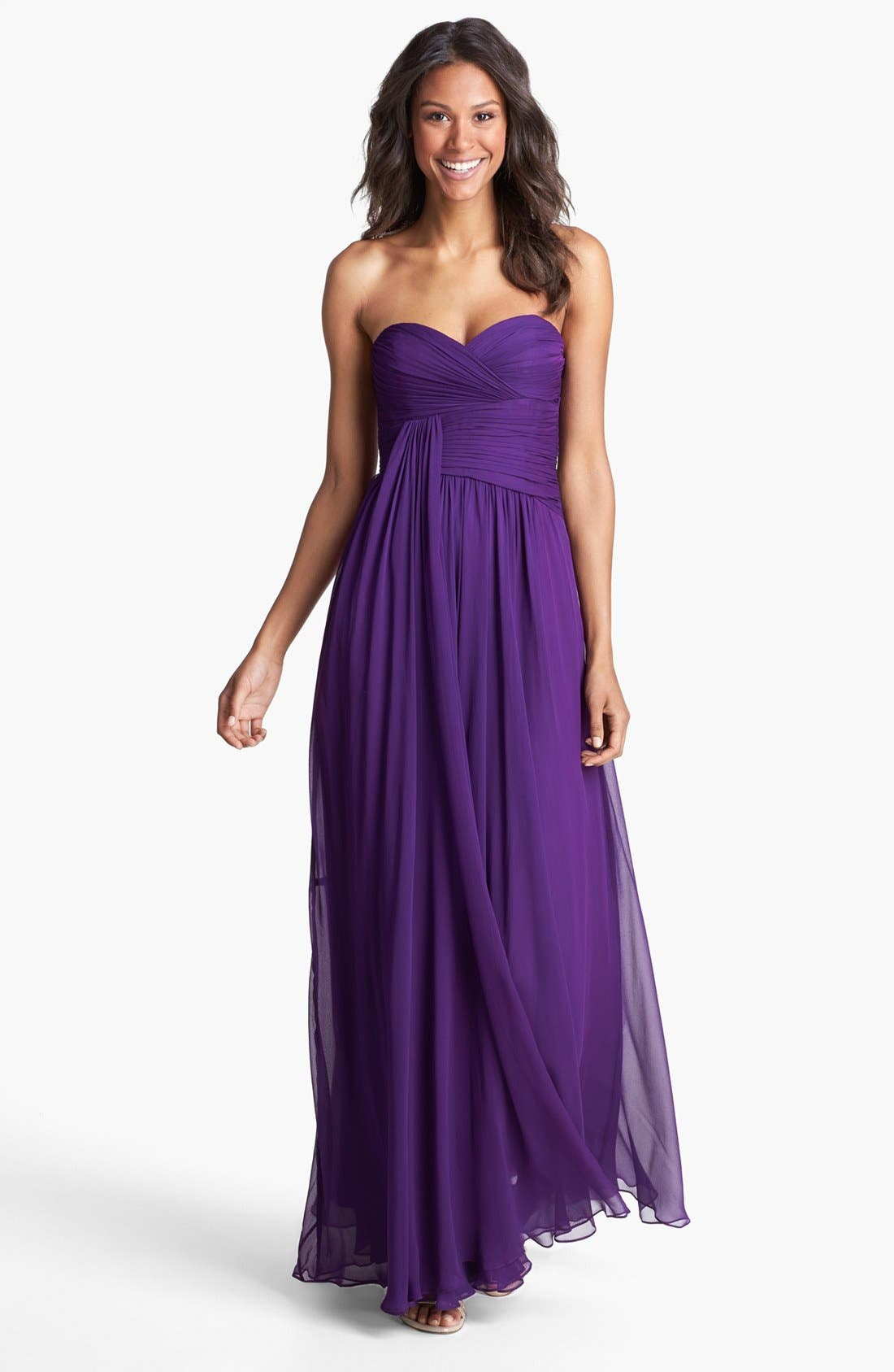 Alternate Image 1 Selected - Jill Jill Stuart Draped Chiffon Dress