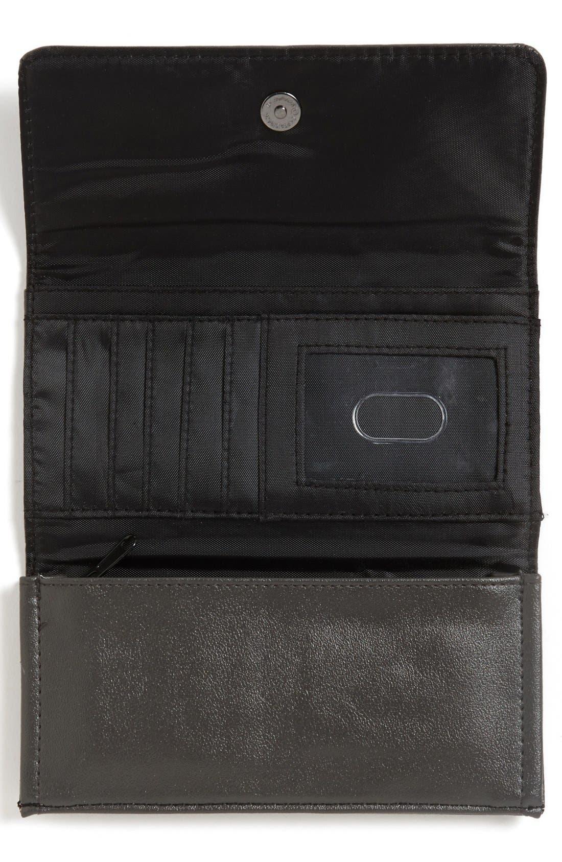 Alternate Image 2  - Lulu 'Cat' Faux Leather Wallet