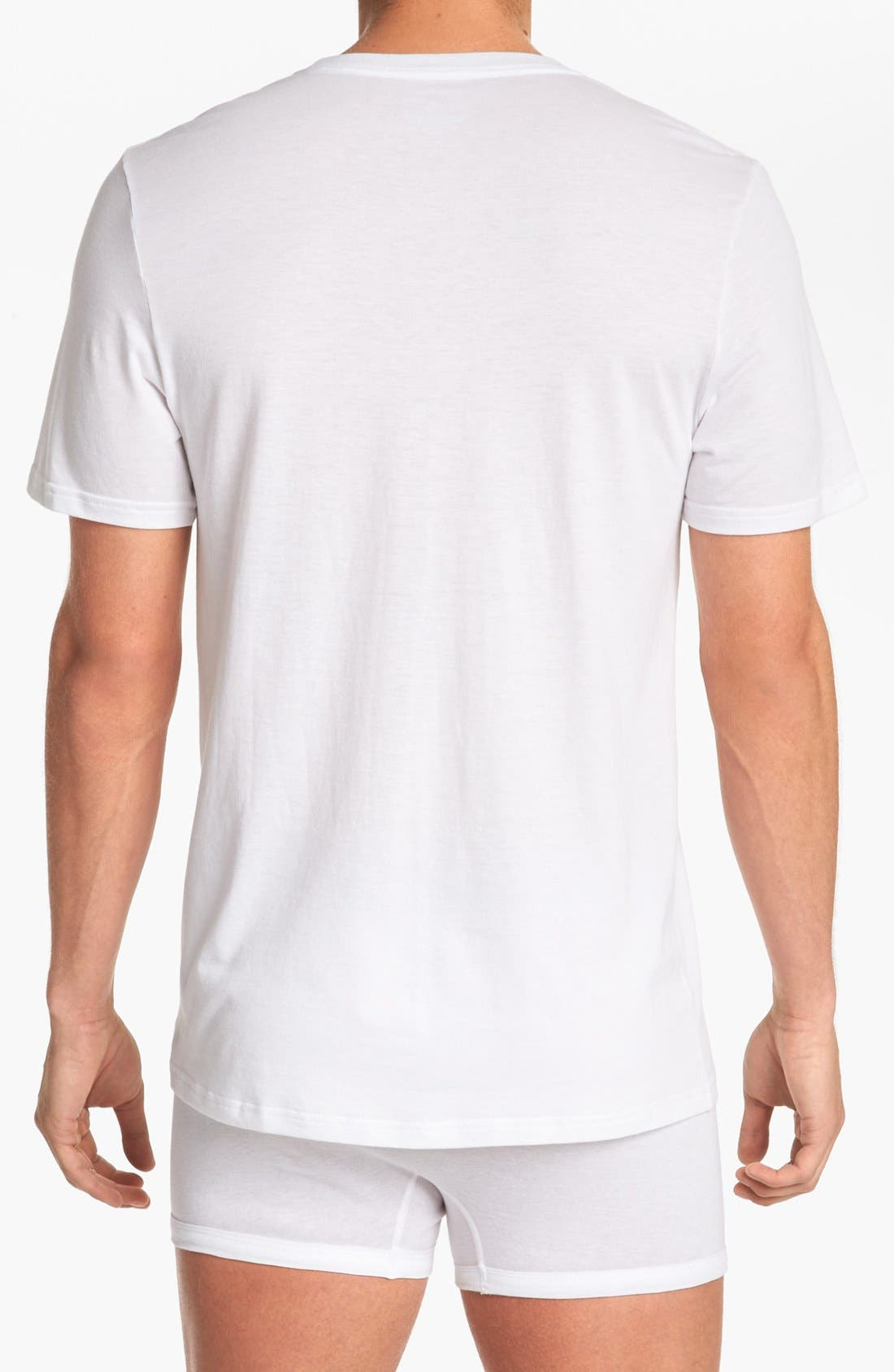 Alternate Image 2  - Michael Kors 'Soft Touch' Crewneck T-Shirt (3-Pack)