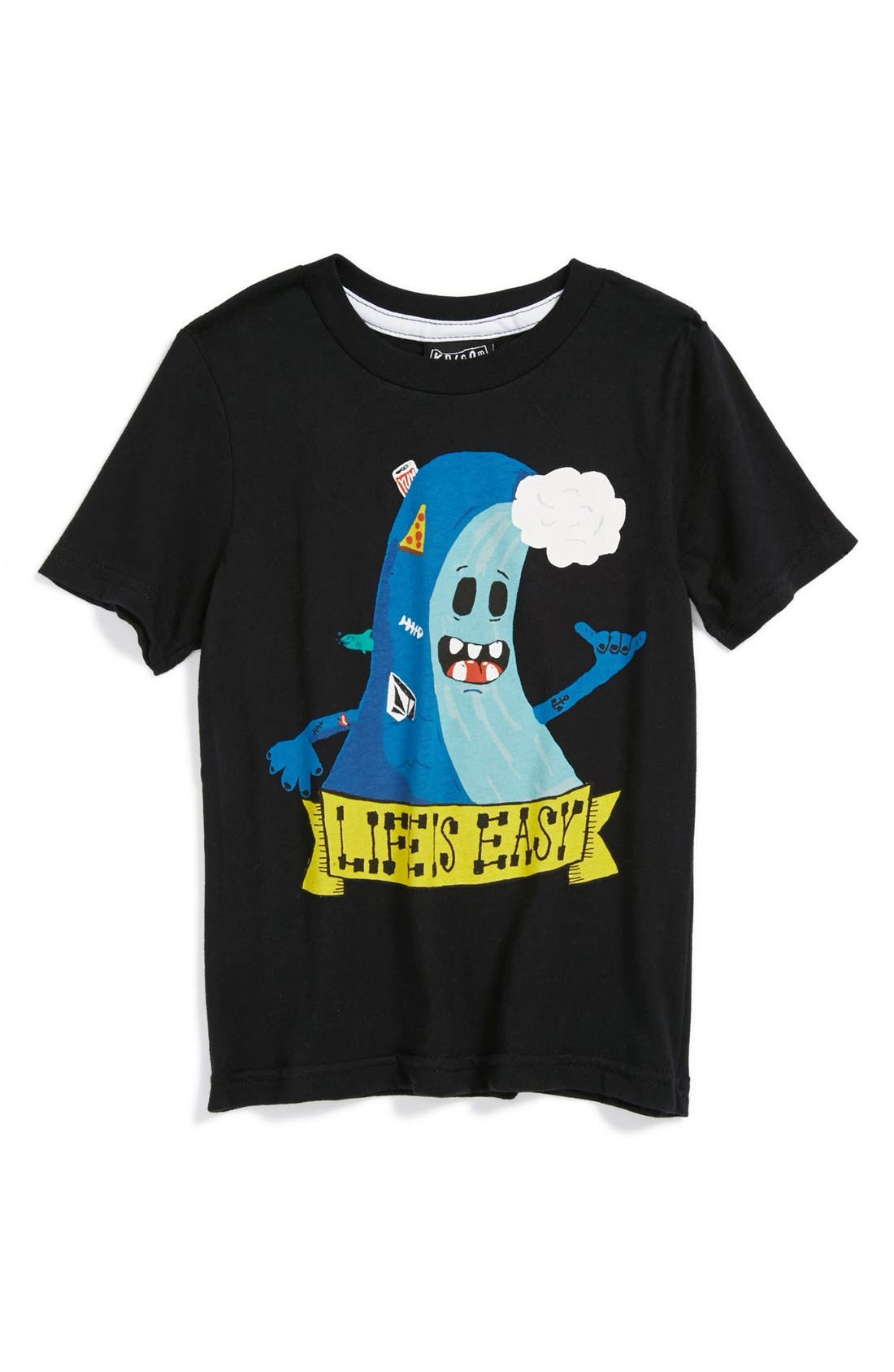 Alternate Image 1 Selected - Volcom 'Patrick Carrie' T-Shirt (Toddler Boys)