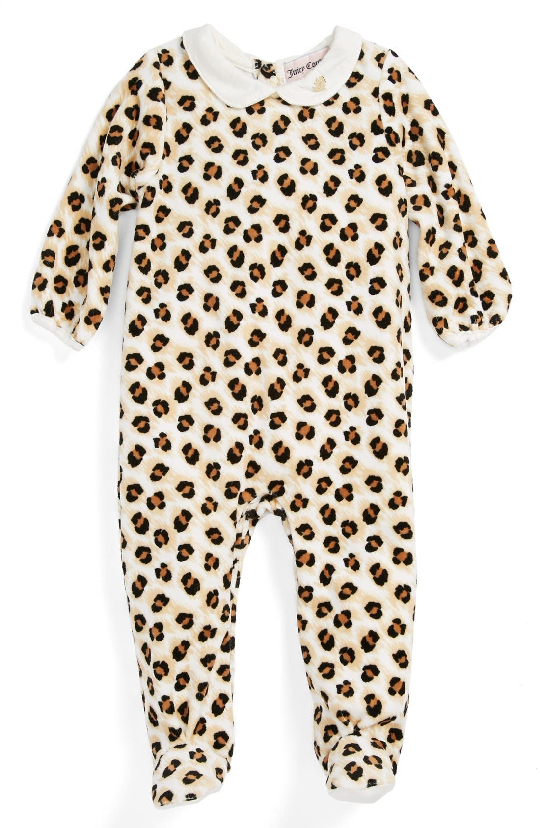 Alternate Image 1 Selected - Juicy Couture One-Piece (Baby Girls)