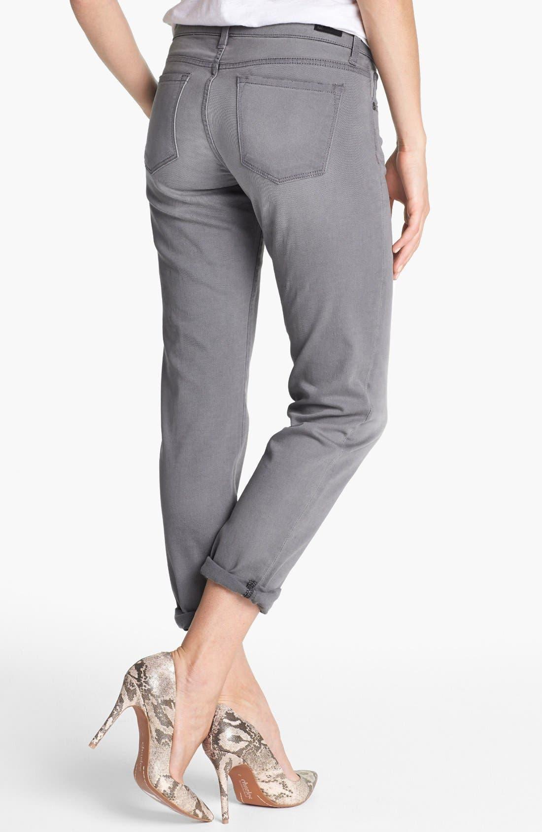 Alternate Image 2  - KUT from the Kloth Boyfriend Crop Jeans (Ensure)