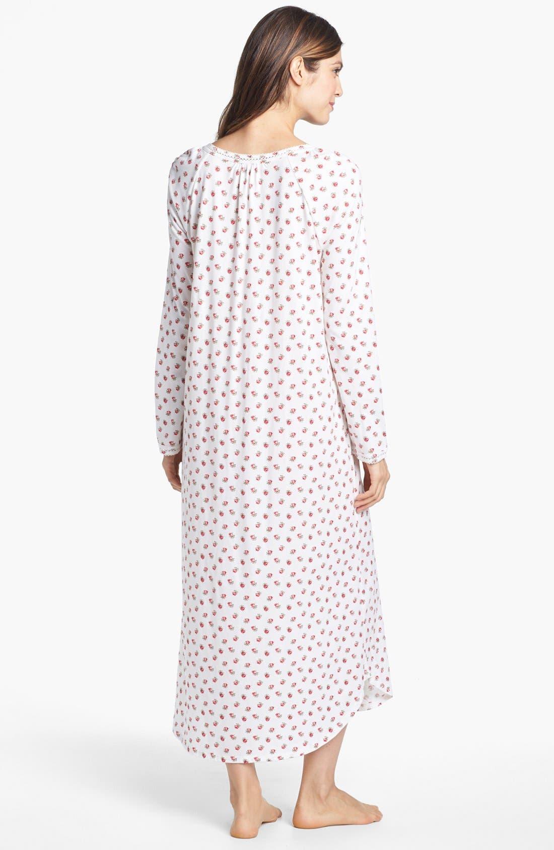 Alternate Image 2  - Carole Hochman Designs 'Rosebud Cherubs' Nightgown
