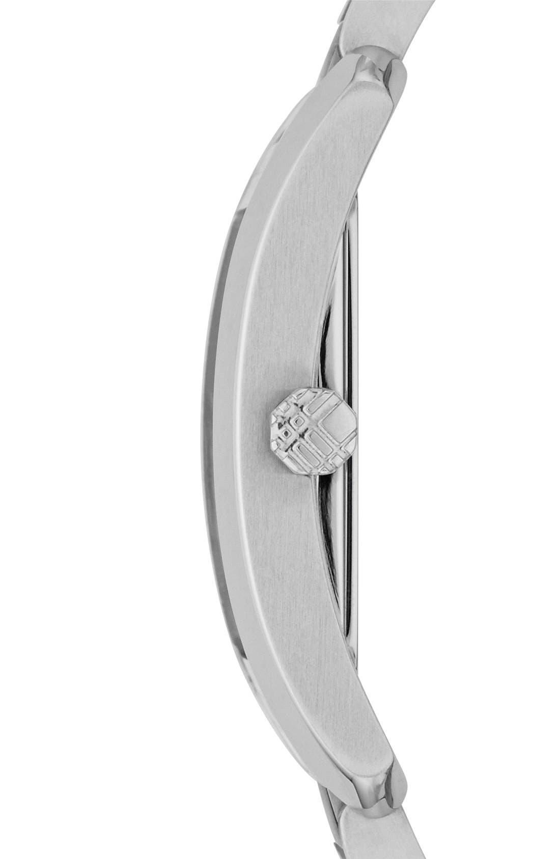 Alternate Image 3  - Burberry Rectangular Bracelet Watch, 20mm x 26mm