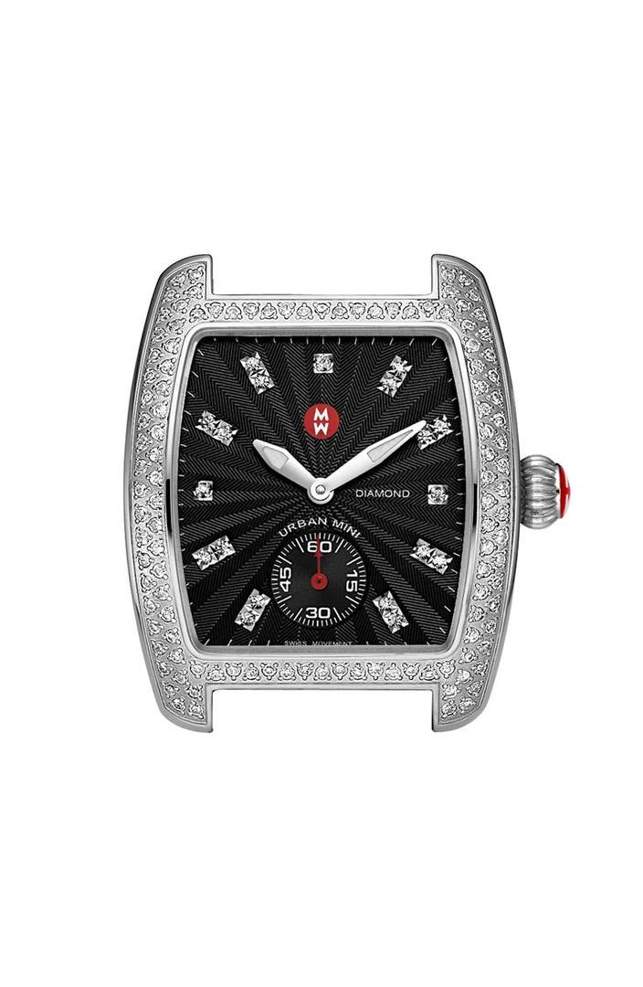 Michele Mini Urban Diamond Watch