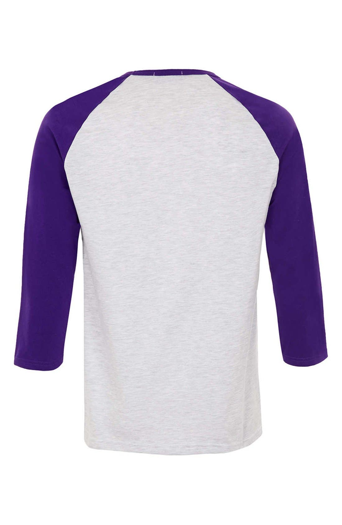 Alternate Image 2  - Topman Blazers Baseball T-Shirt