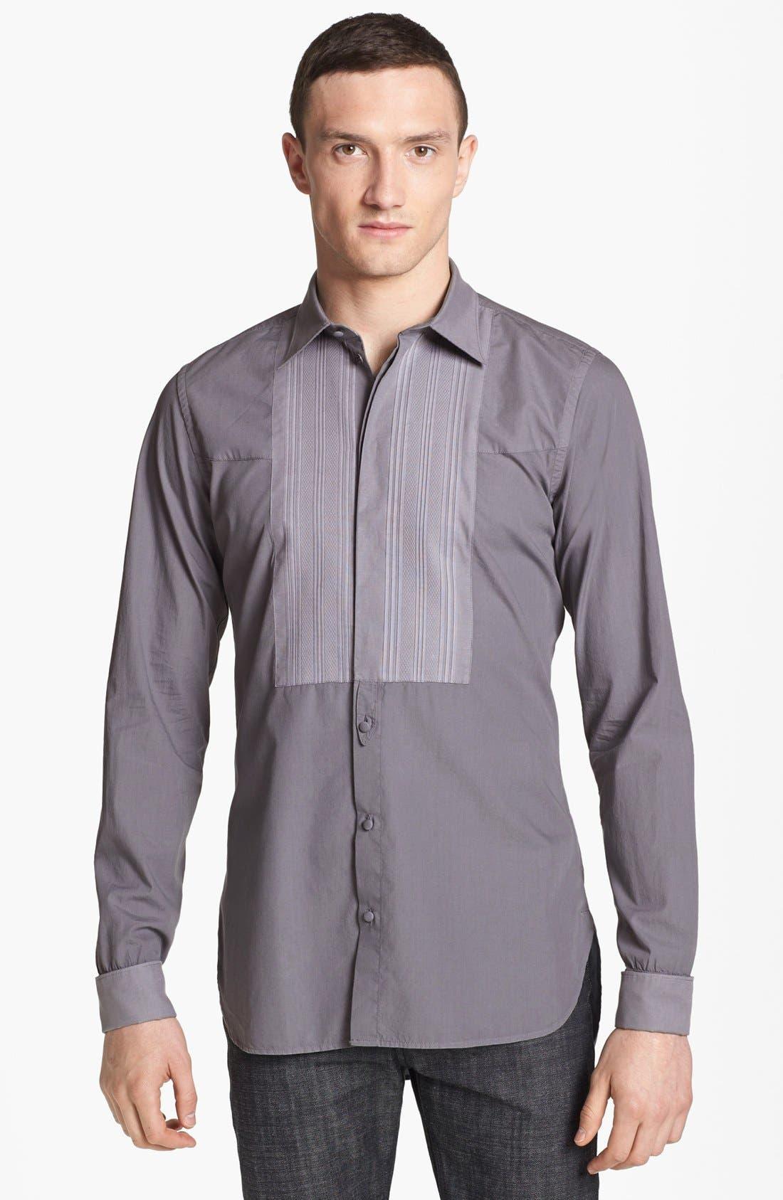 Alternate Image 1 Selected - Dolce&Gabbana Tuxedo Shirt