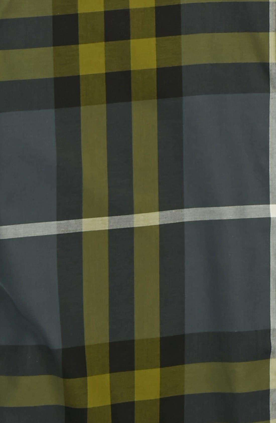 Alternate Image 2  - Burberry Woven Shirt (Little Boys & Big Boys)