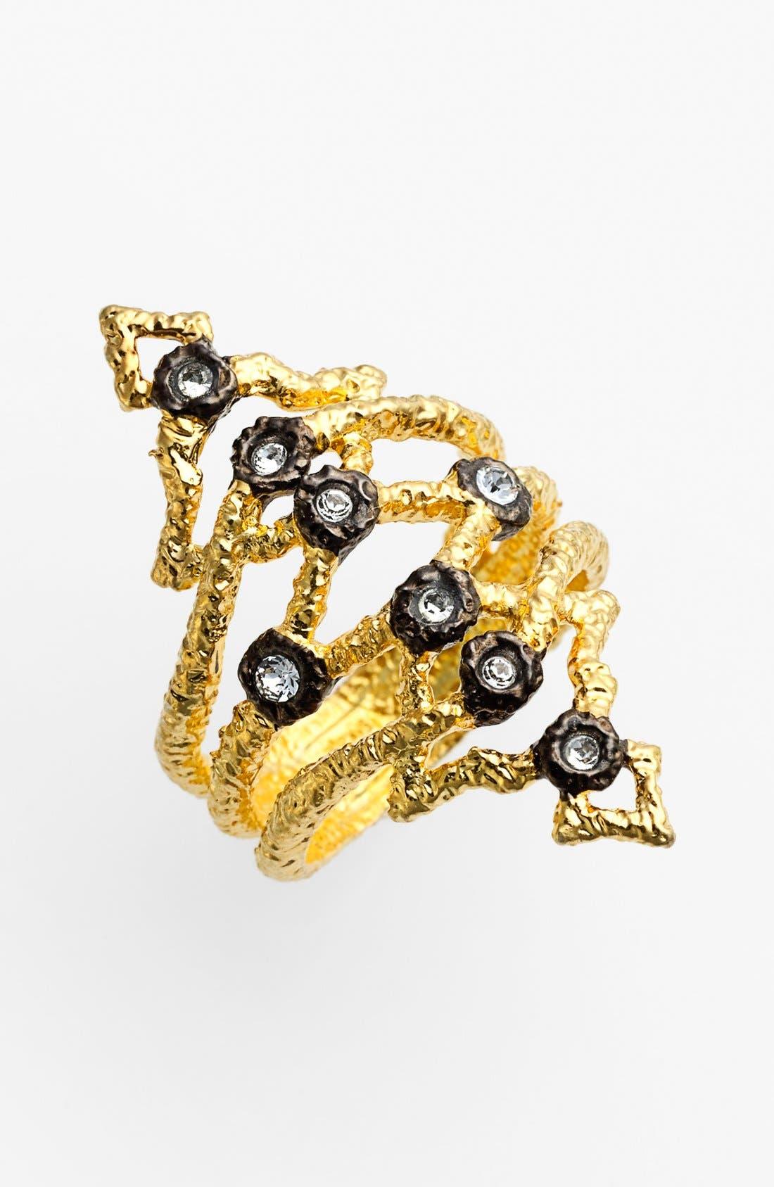 Alternate Image 1 Selected - Alexis Bittar 'Elements - Jardin de Papillon' Open Ring