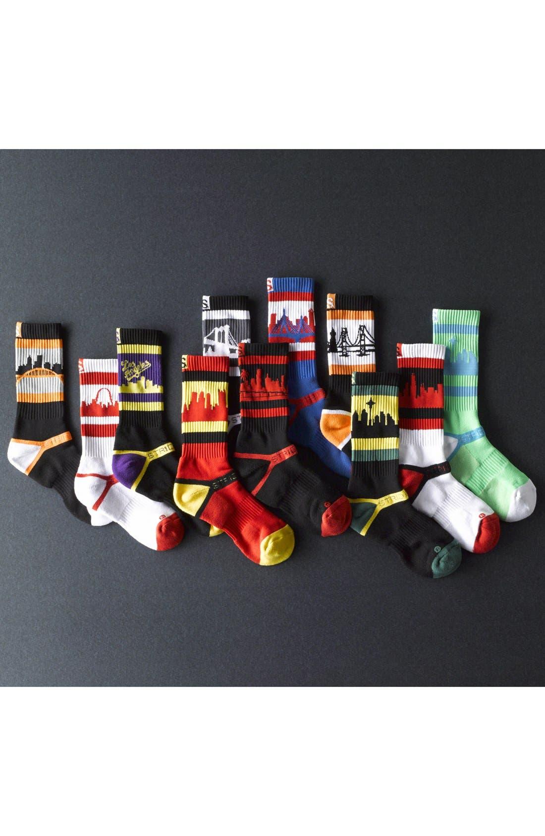 Alternate Image 3  - STRIDELINE 'Chicago' Socks