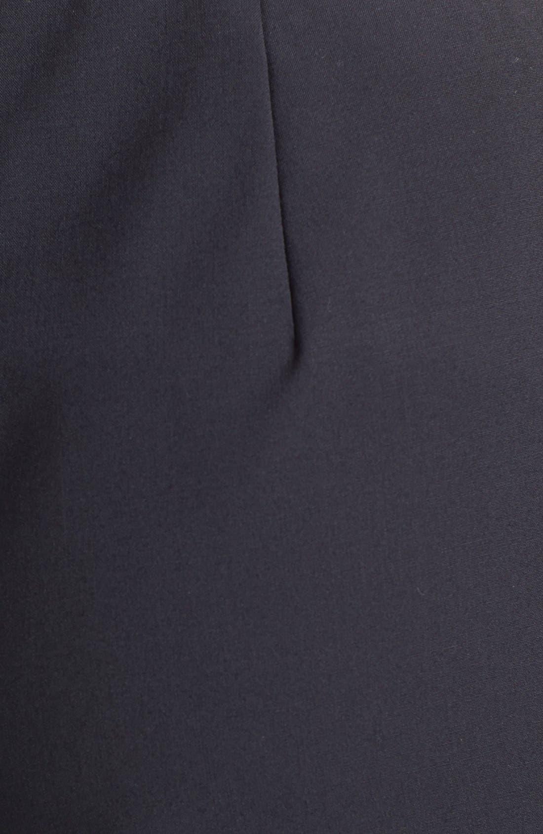 Alternate Image 3  - Lafayette 148 New York Side Zip Stretch Wool Pants