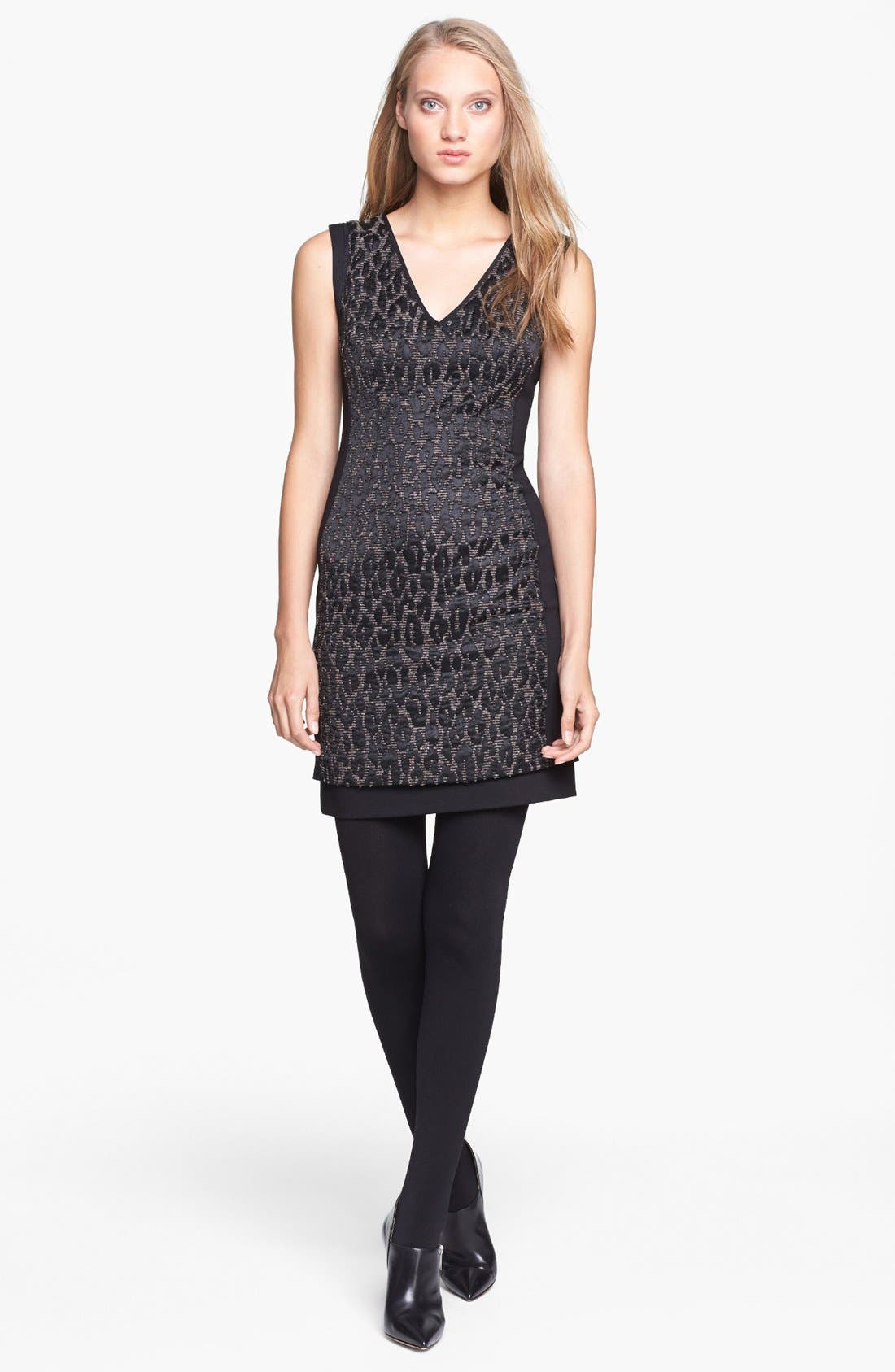 Alternate Image 1 Selected - Trina Turk 'Sharise' Jacquard Sheath Dress