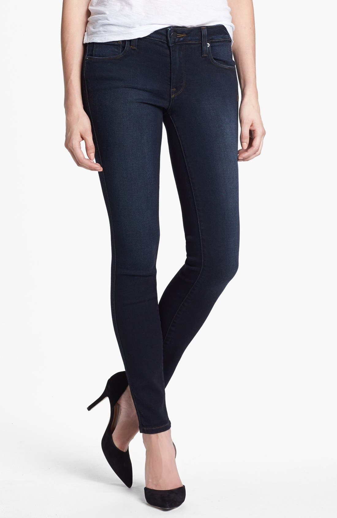 Alternate Image 1 Selected - Genetic 'The Shya' Cigarette Skinny Jeans (Nomad)