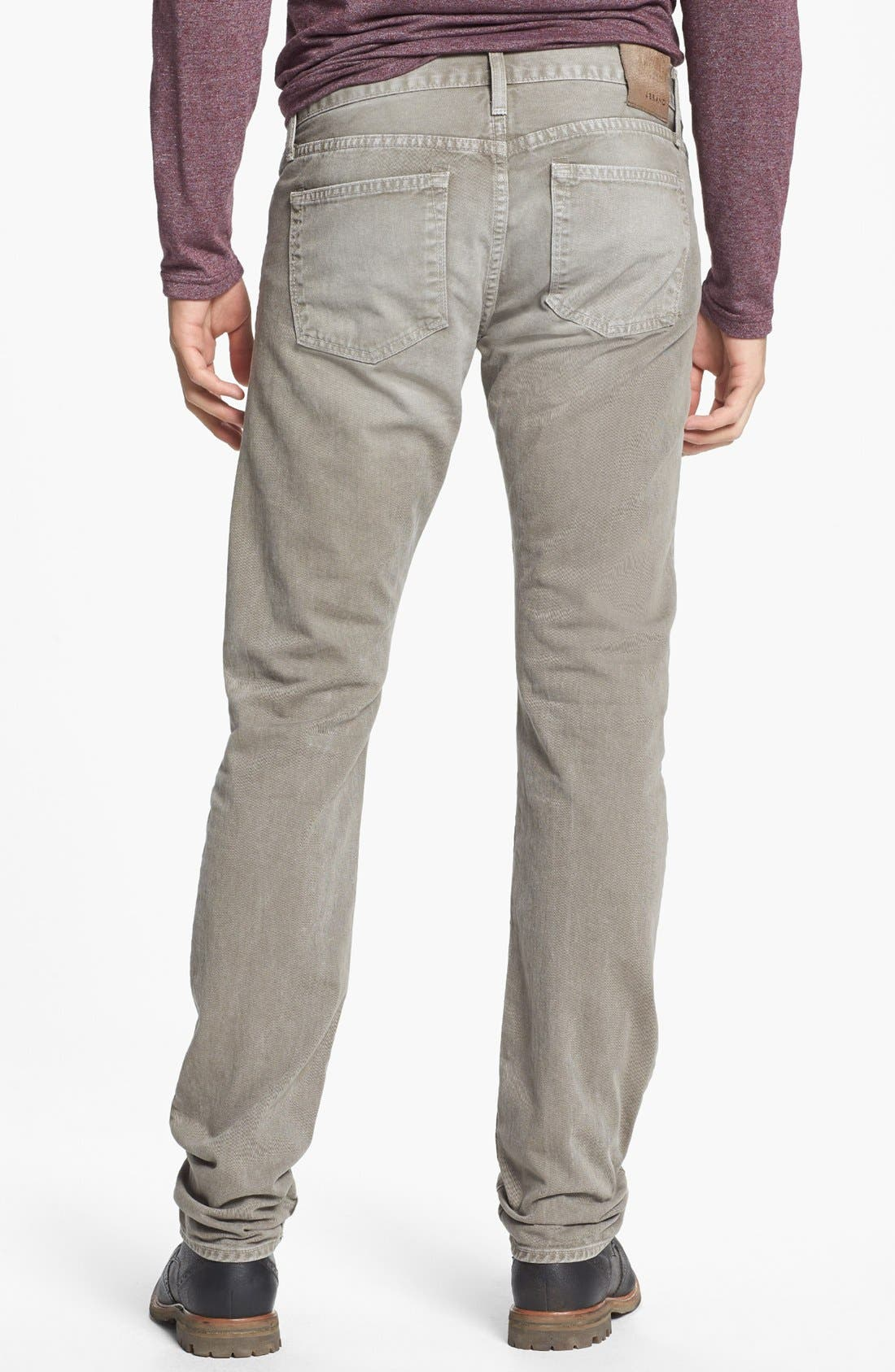 Alternate Image 2  - J Brand 'Kane' Slim Fit Jeans (Washed Boulder)