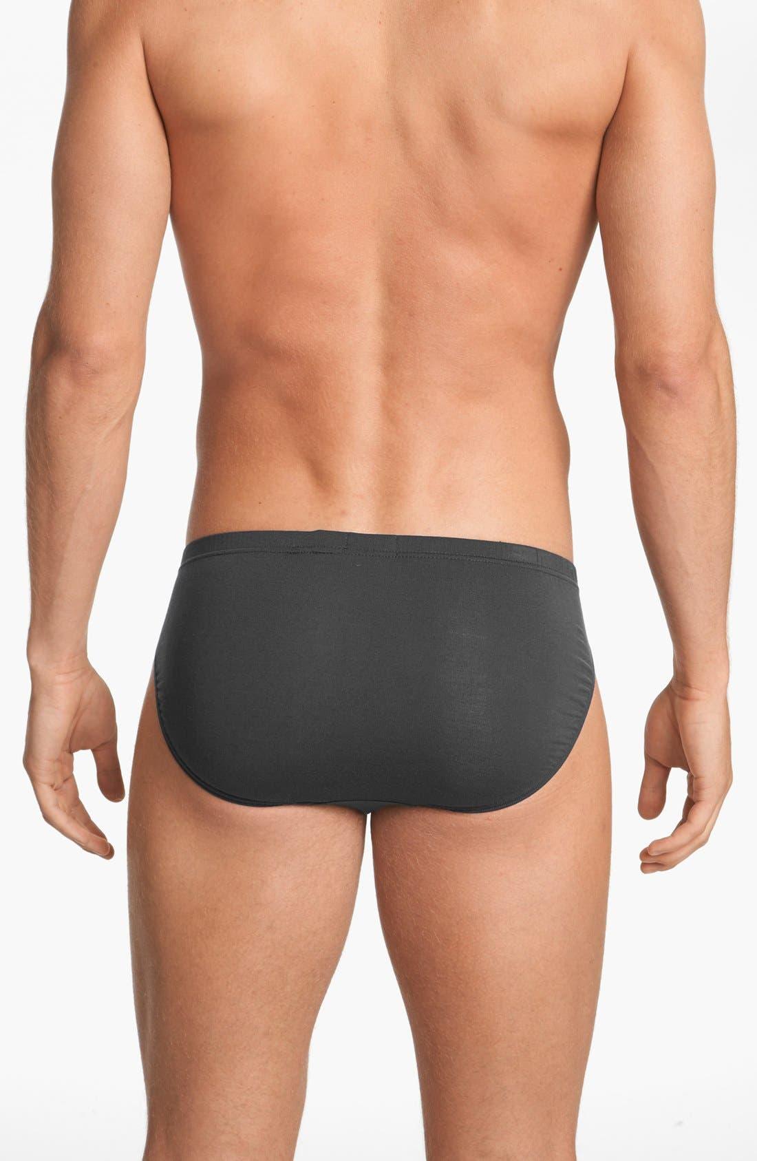 Alternate Image 2  - Calvin Klein 'U5552' Micromodal Bikini Briefs
