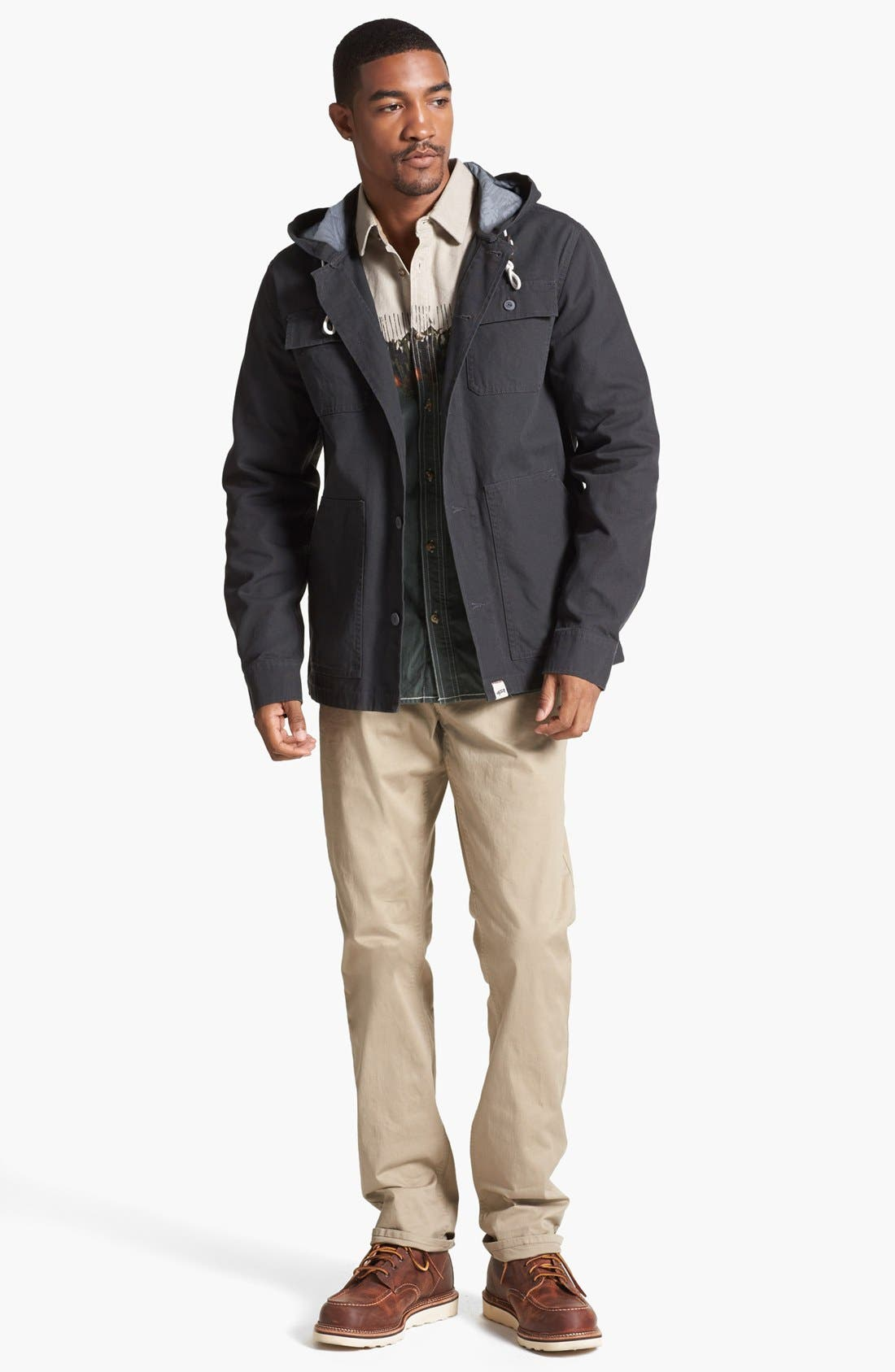 Alternate Image 4  - Vans 'Lismore' Canvas Cotton Hooded Jacket