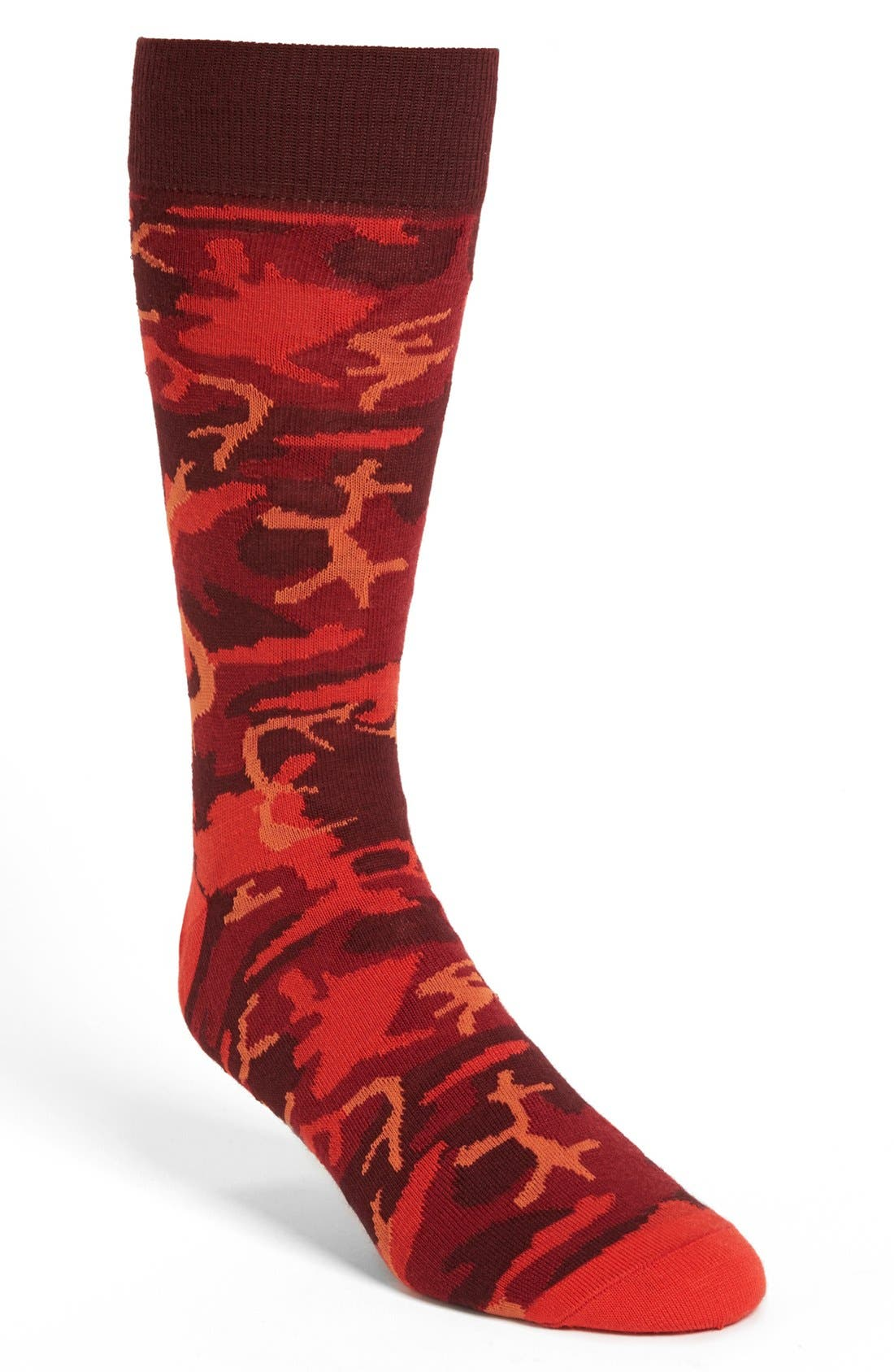 Alternate Image 1 Selected - Lorenzo Uomo Camouflage Socks (Men)