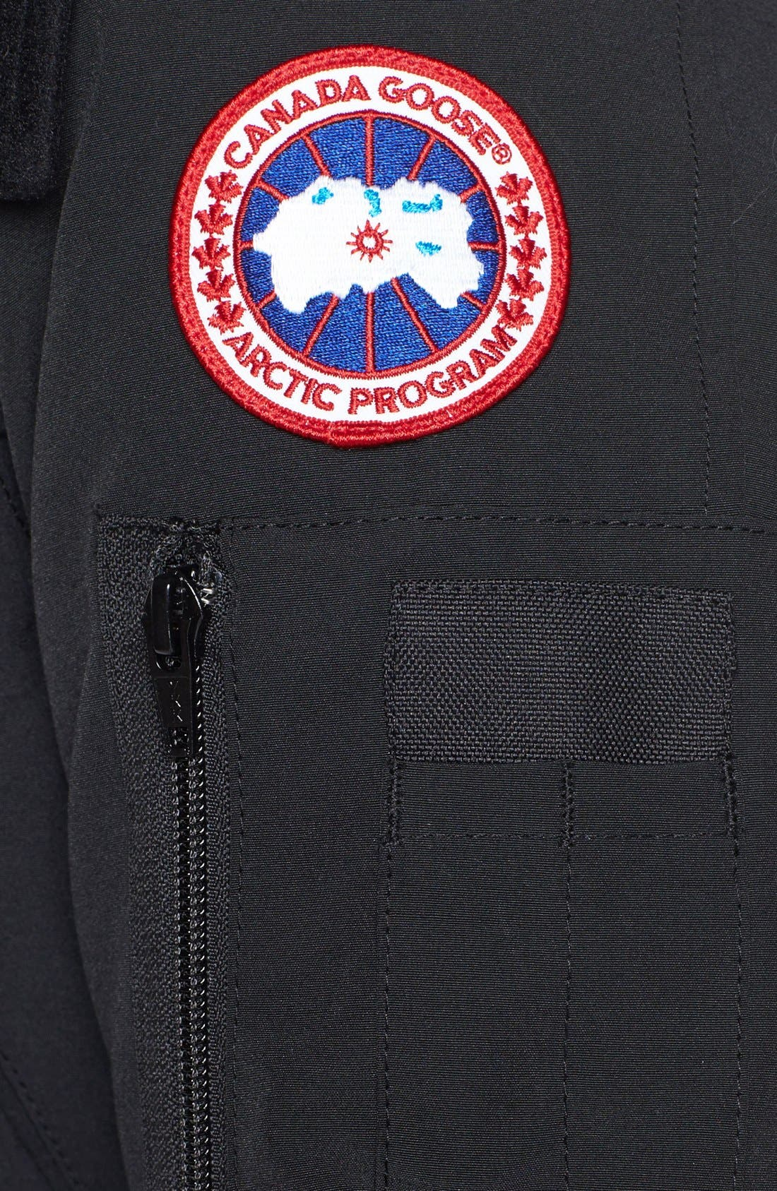 Alternate Image 4  - Canada Goose Montebello Slim Fit Down Parka with Genuine Coyote Fur Trim