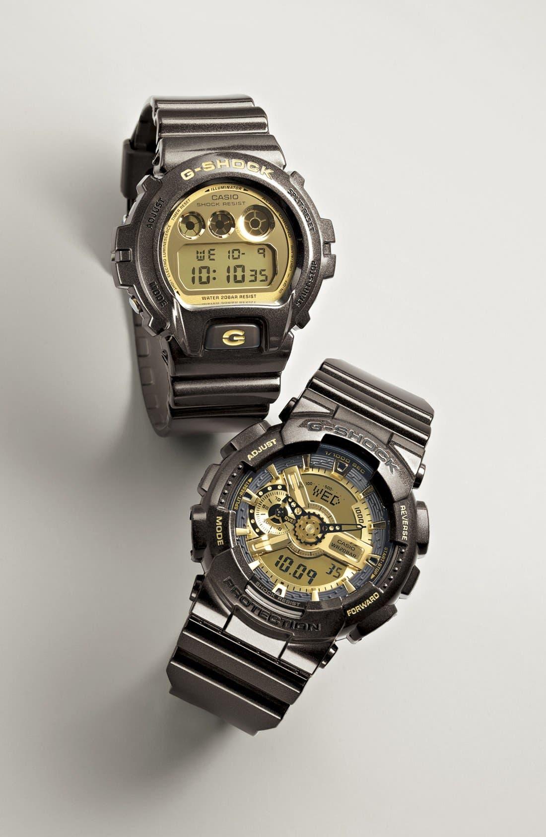 Alternate Image 2  - G-Shock Digital Watch, 53mm x 50mm