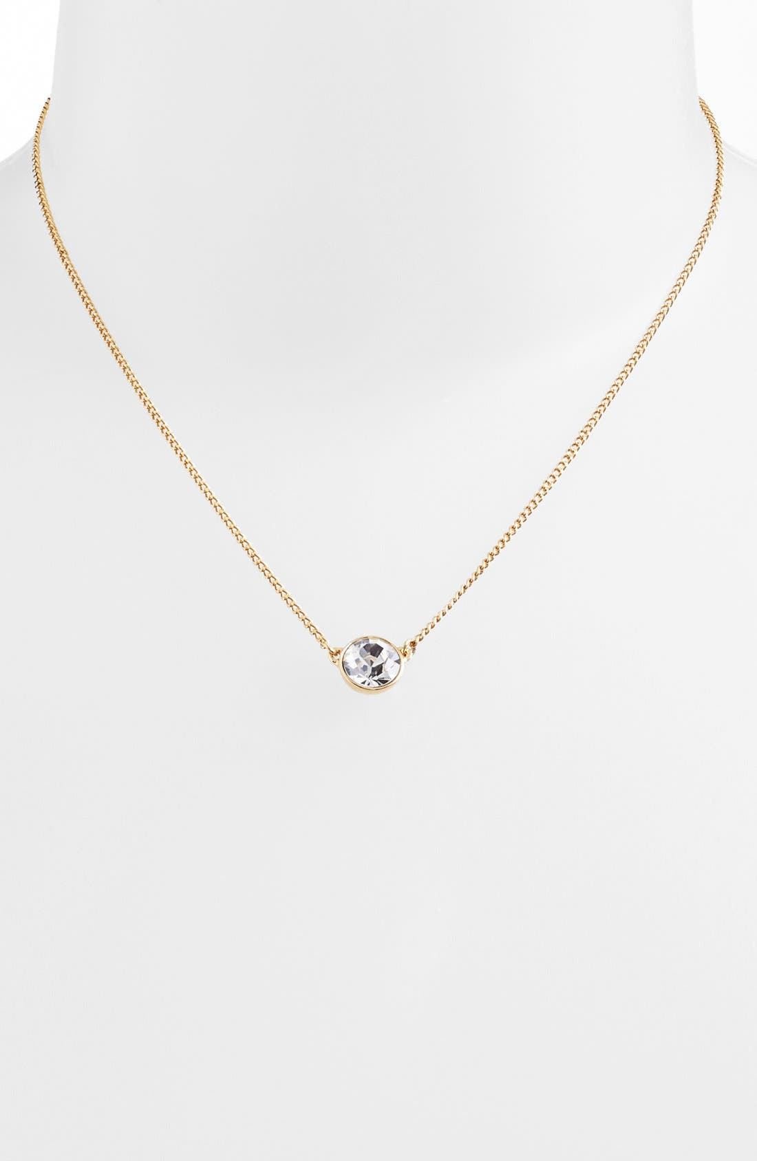 Alternate Image 2  - Givenchy Crystal Pendant Necklace