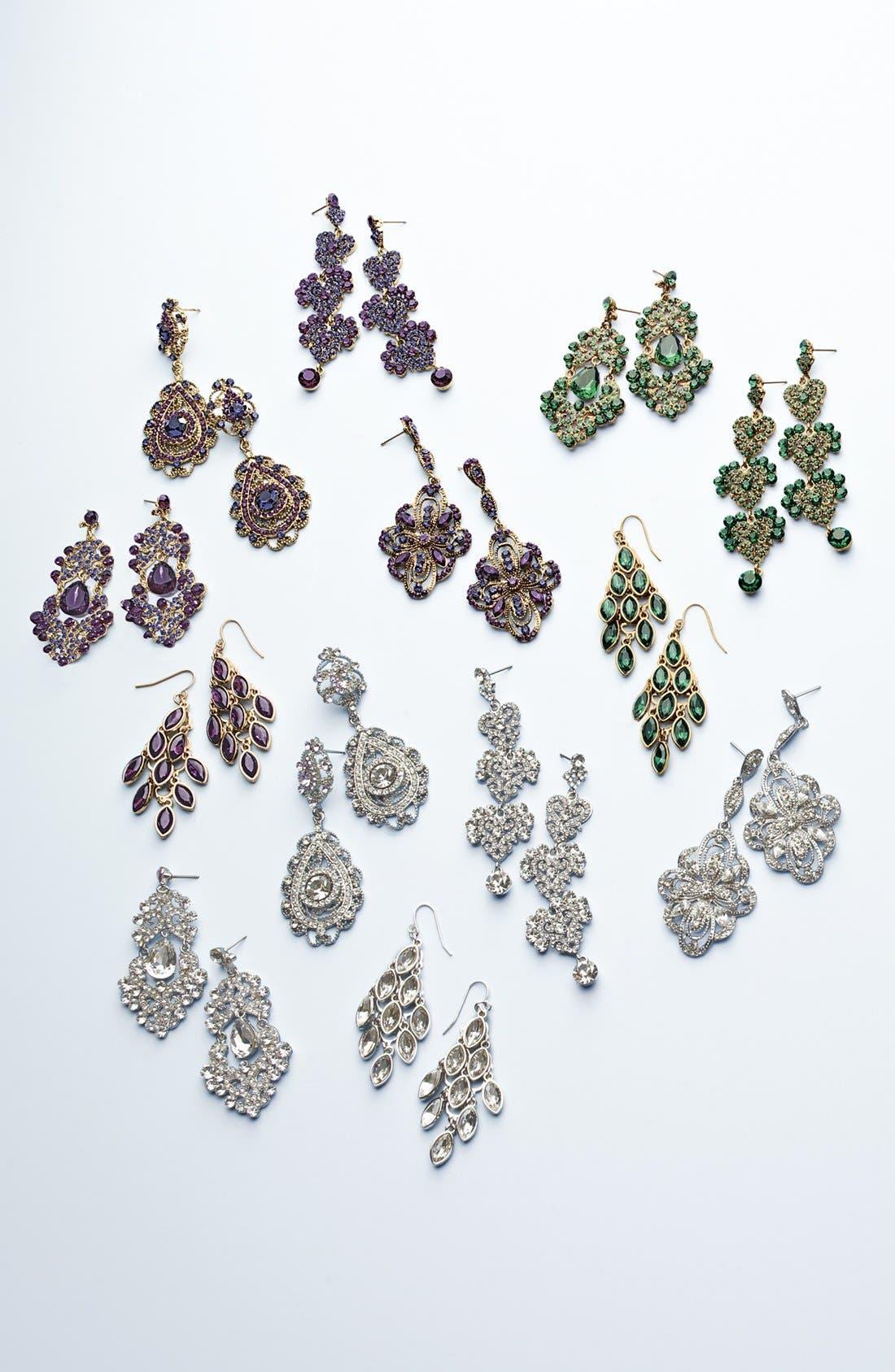 Alternate Image 2  - Tasha Ornate Chandelier Earrings