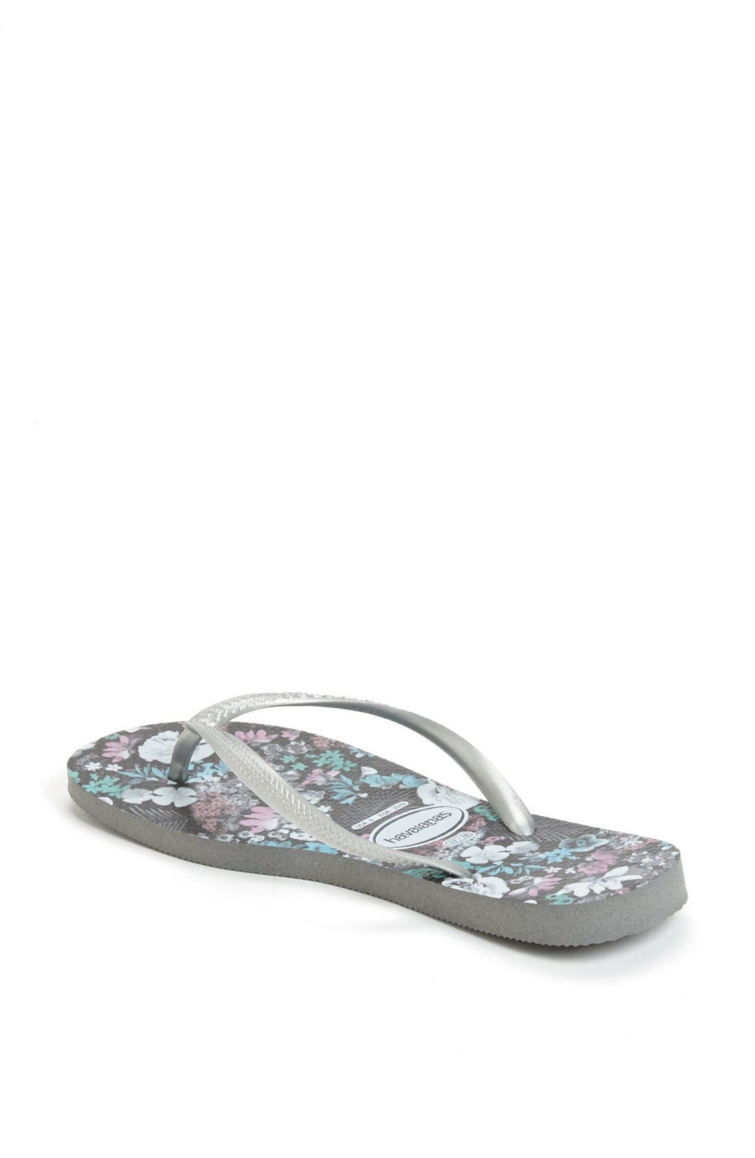 Alternate Image 2  - Havaianas 'Slim Floral' Flip Flop (Women)