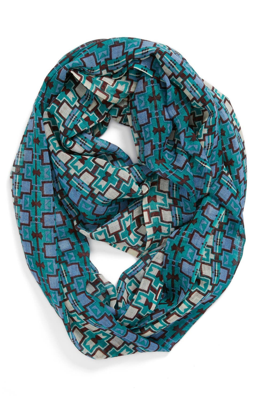 Main Image - Lulla Collection by Bindya 'Checkers' Infinity Scarf