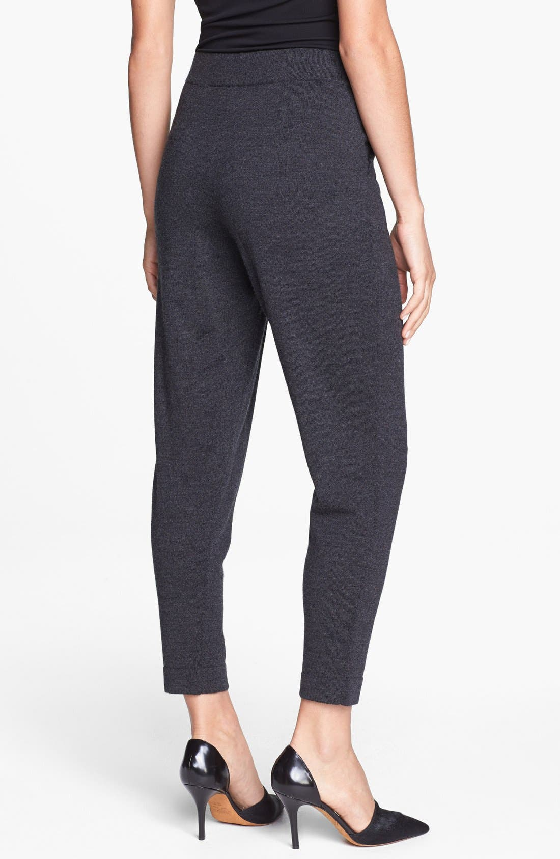Alternate Image 3  - Eileen Fisher Slouchy Wool Ankle Pants
