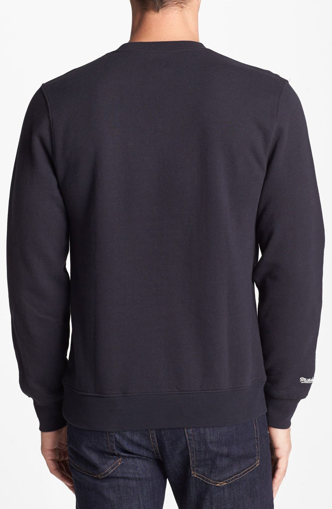 Alternate Image 2  - Mitchell & Ness 'Portland Trail Blazers - Technical Foul' Sweatshirt