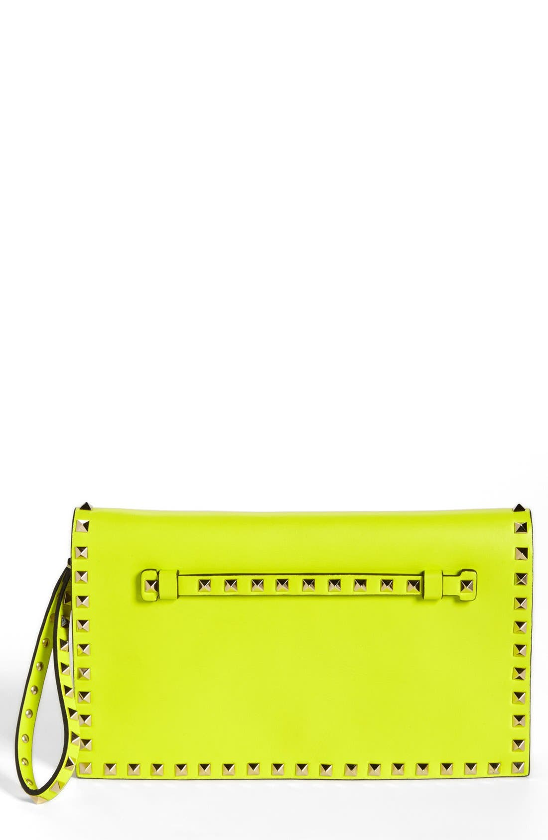 Alternate Image 1 Selected - Valentino 'Rockstud' Flap Clutch