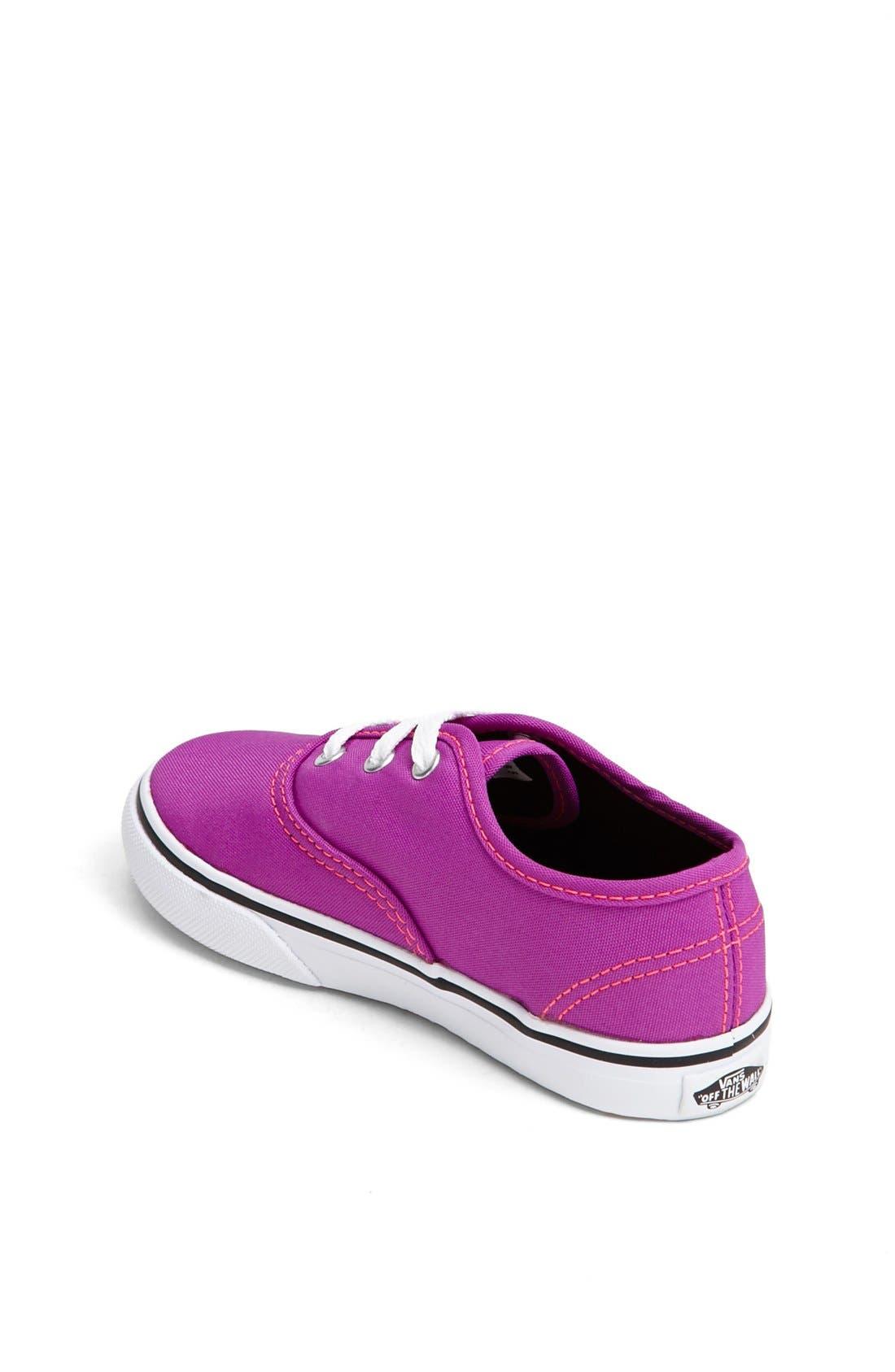 Alternate Image 2  - Vans 'Authentic' Neon Sneaker (Baby, Walker & Toddler)
