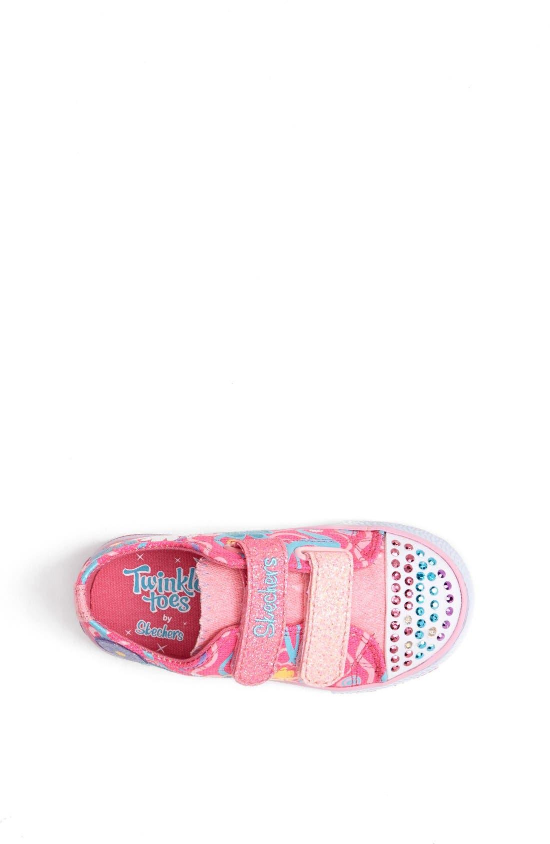 Alternate Image 3  - SKECHERS 'Twinkle Toes - Sweet Talk' Light-Up Sneaker (Walker & Toddler)
