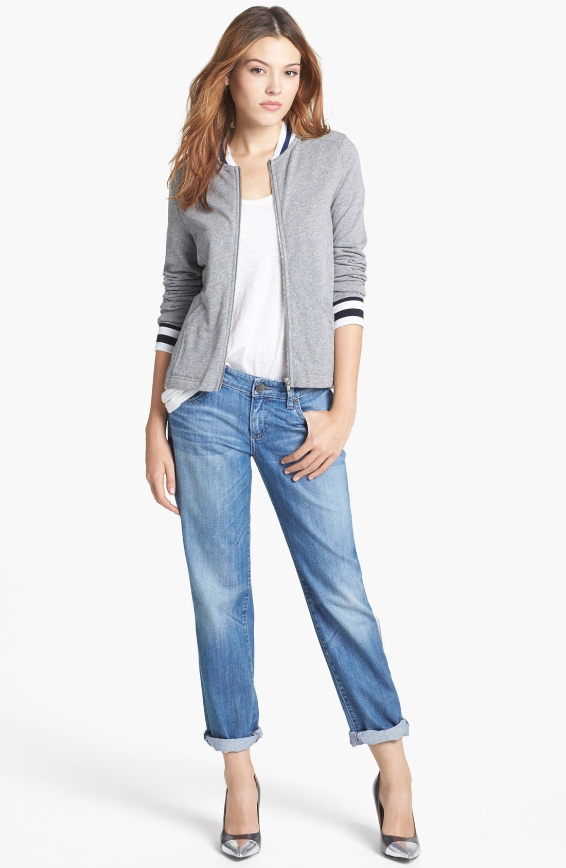 Alternate Image 4  - KUT from the Kloth 'Catherine' Slim Boyfriend Jeans (Exceptional) (Regular & Petite)