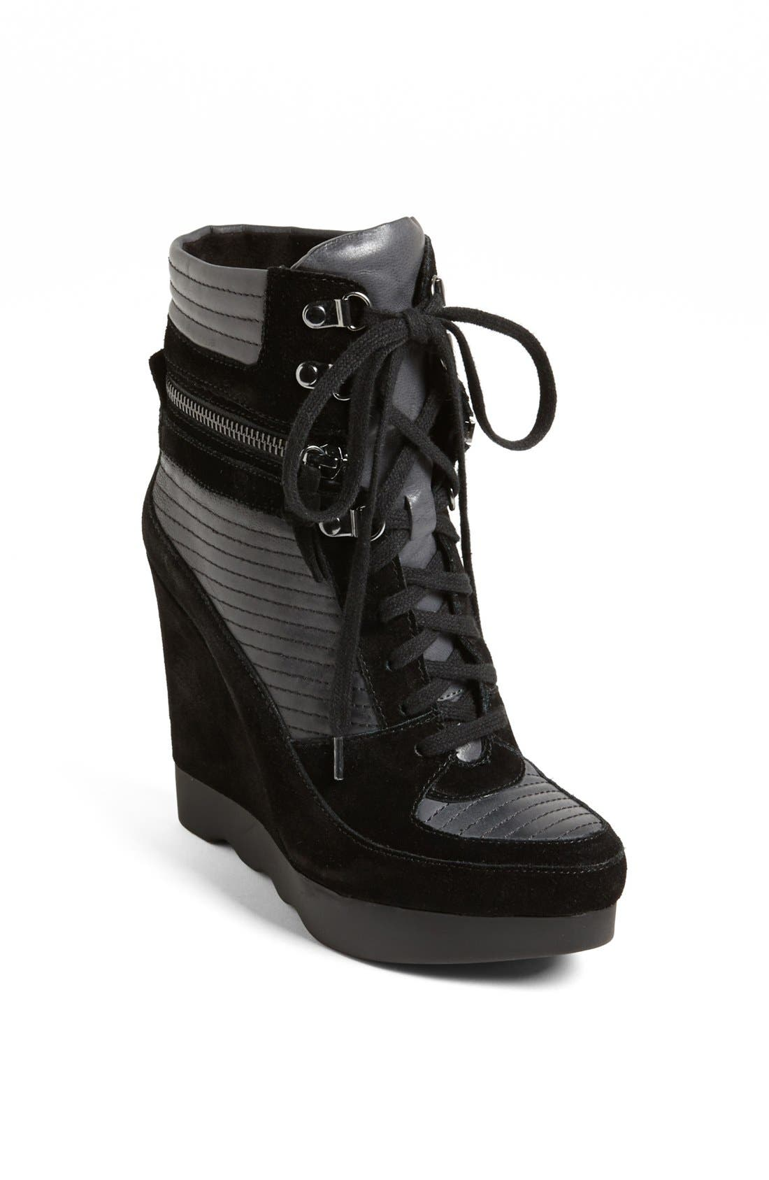 Alternate Image 1 Selected - French Connection 'Maata' Wedge Sneaker