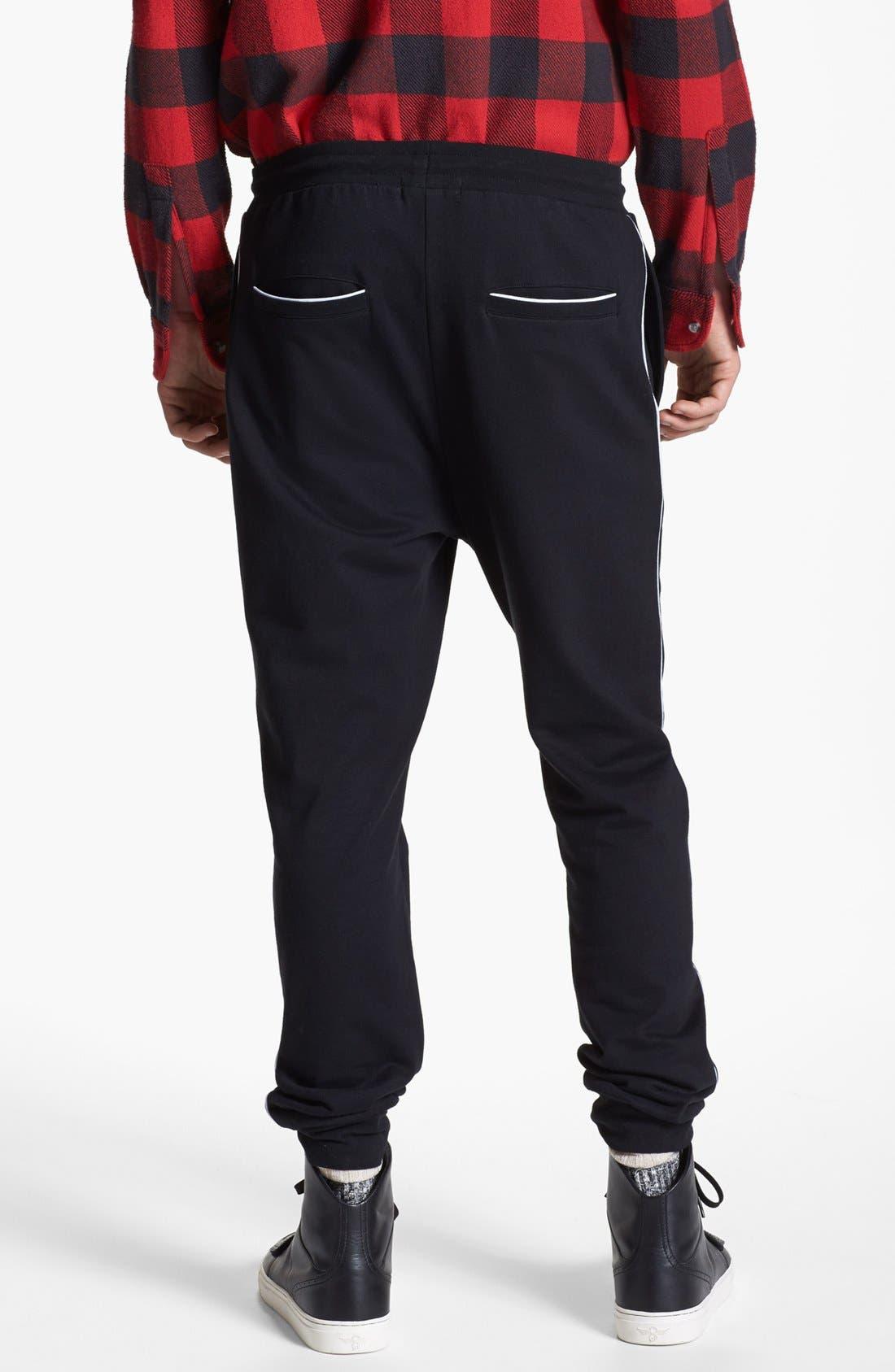 Alternate Image 2  - Topman Cotton Jogger Pants