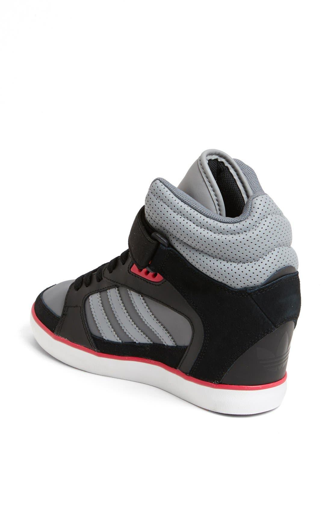Alternate Image 2  - adidas 'Amberlight Up' Basketball Wedge Sneaker