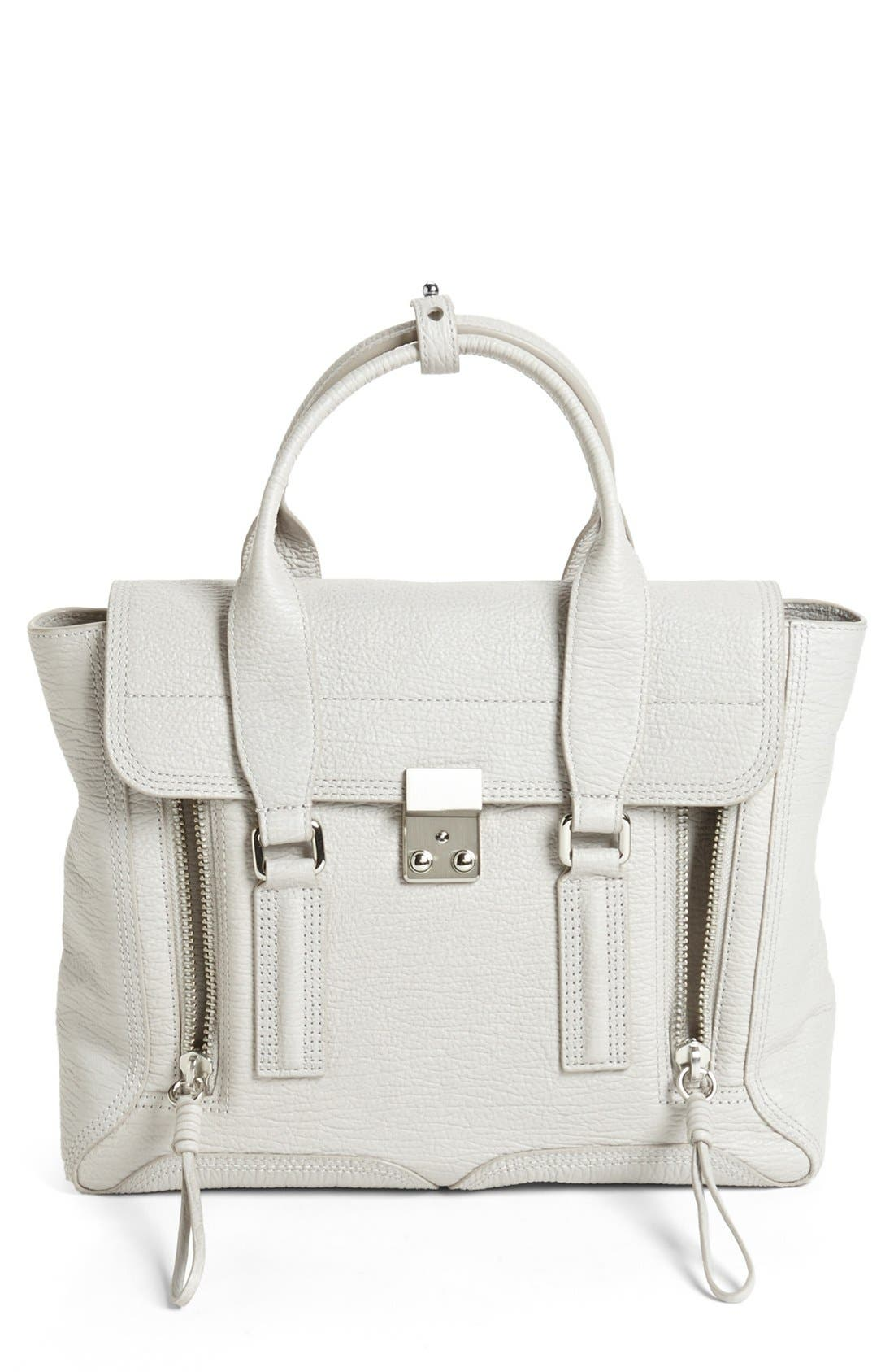 Main Image - 3.1 Phillip Lim 'Medium Pashli' Shark Embossed Leather Satchel