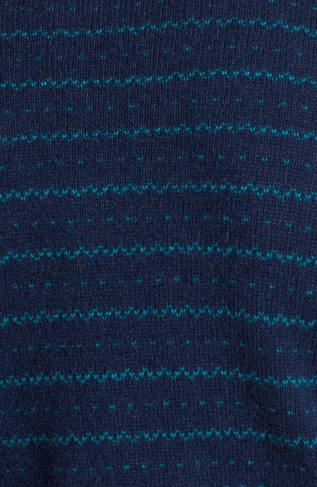 Alternate Image 3  - Topman Stripe Wool Blend Crewneck Sweater