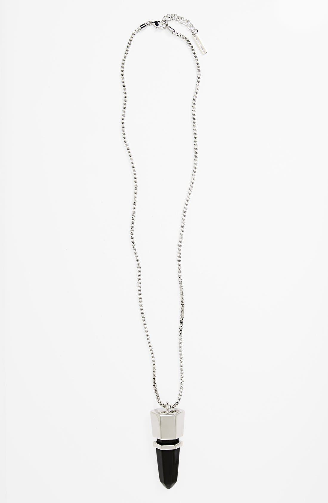 Alternate Image 1 Selected - Vince Camuto 'Bullet Proof' Pendant Necklace