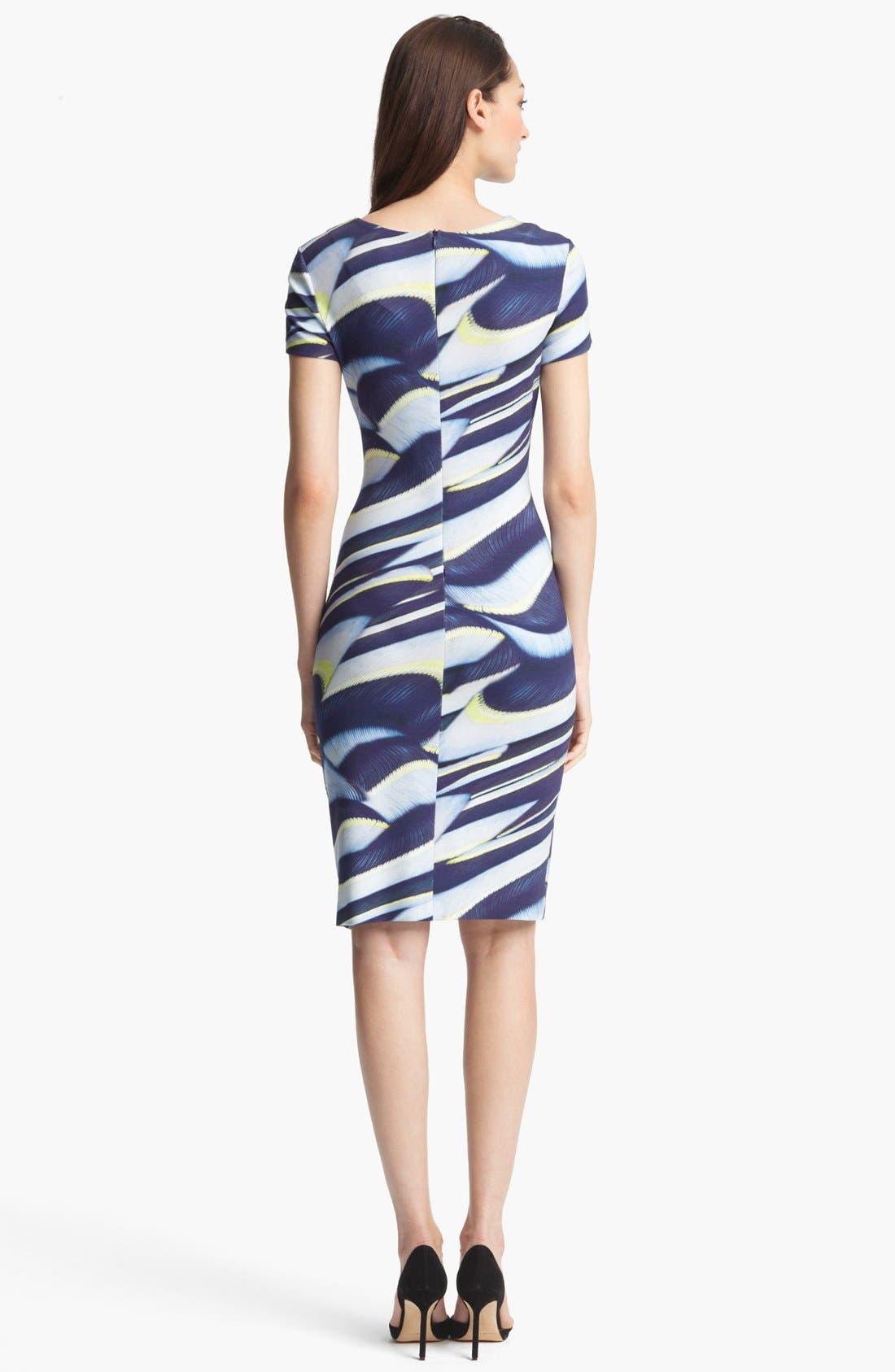 Alternate Image 2  - ESCADA 'Plumeria' Print Dress