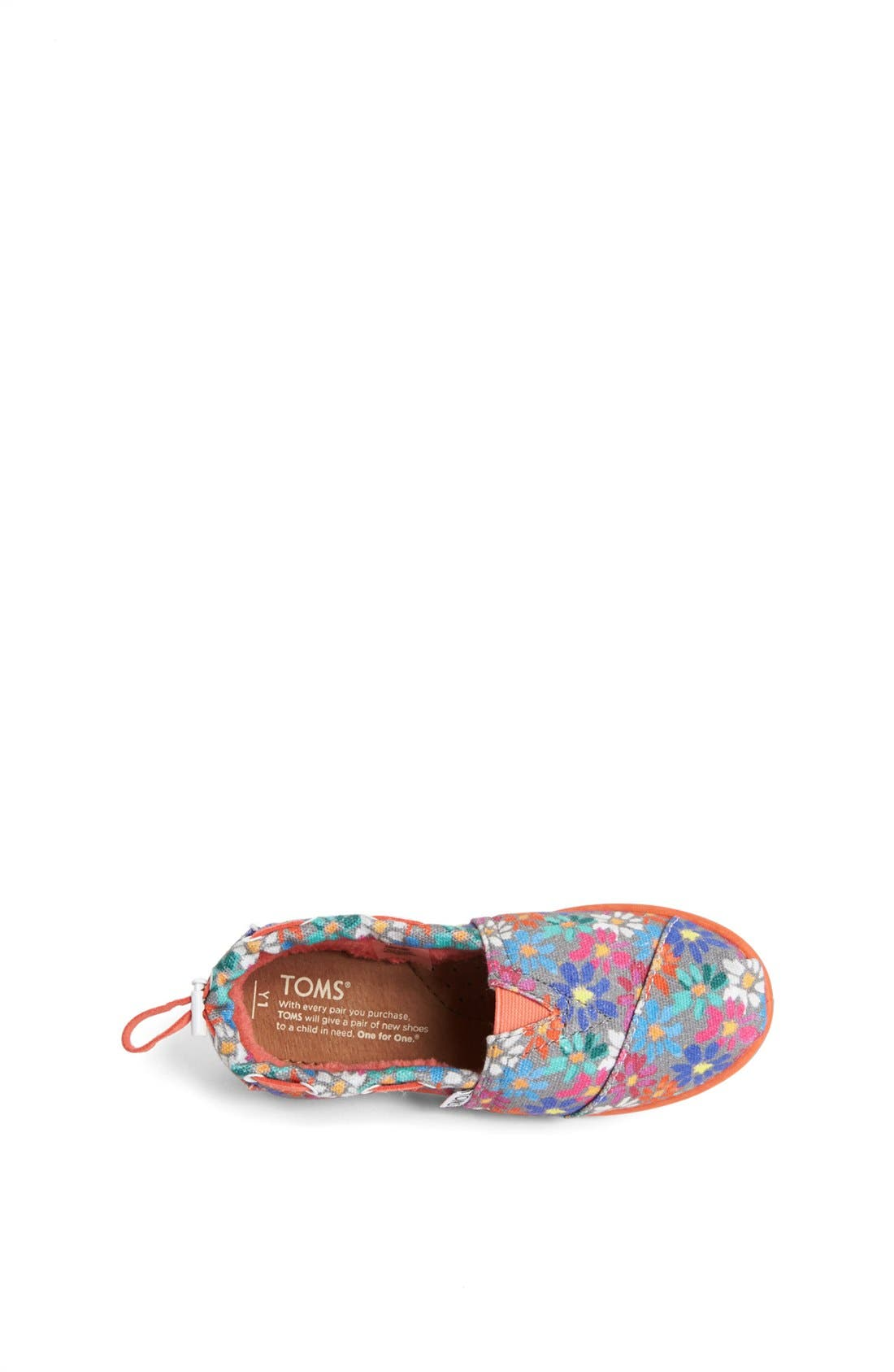 Alternate Image 3  - TOMS 'Bimini Alpargata - Youth' Slip-On (Toddler, Little Kid & Big Kid)