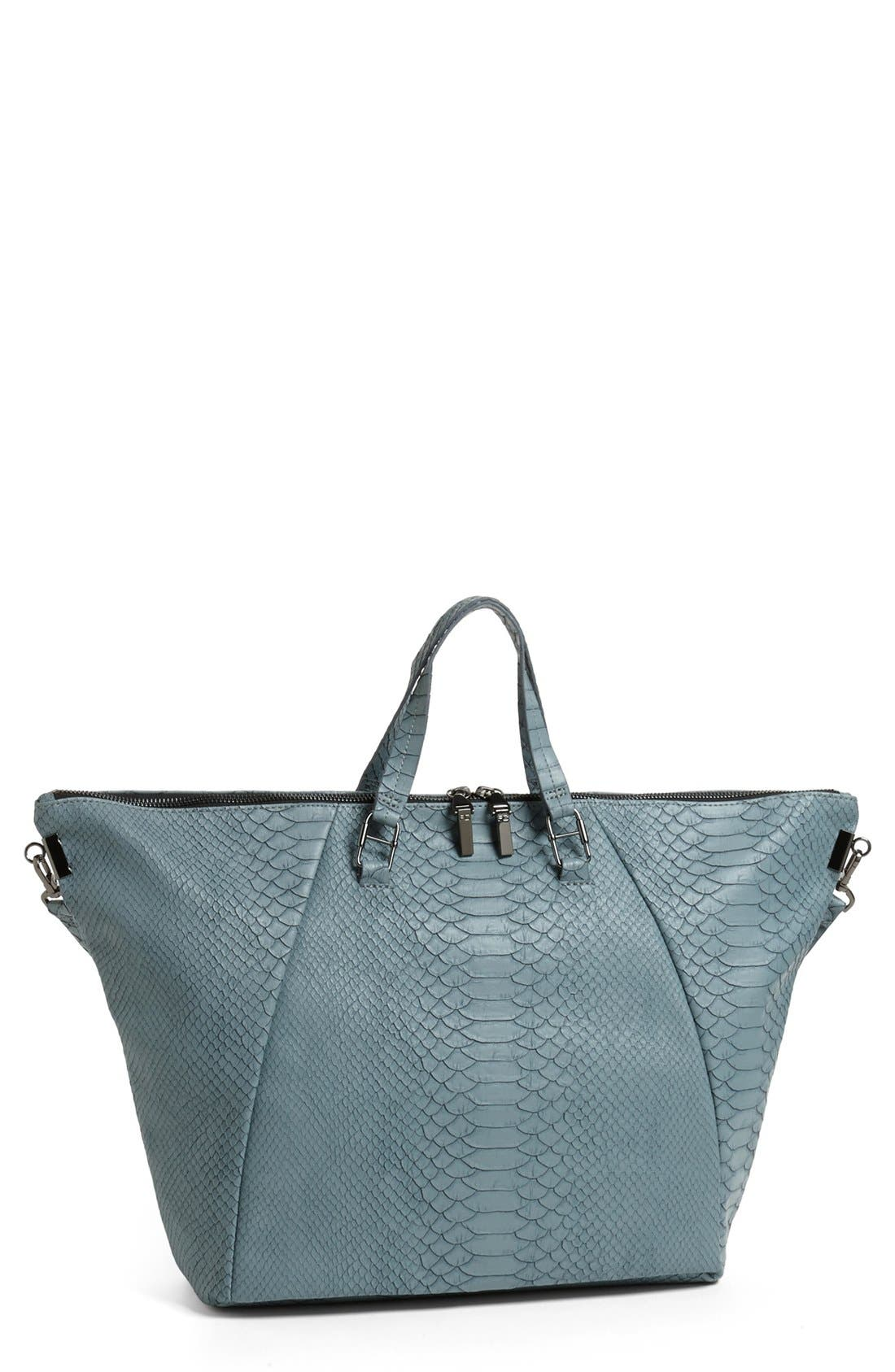 Alternate Image 1 Selected - French Connection 'Cord - Medium' Dome Tote
