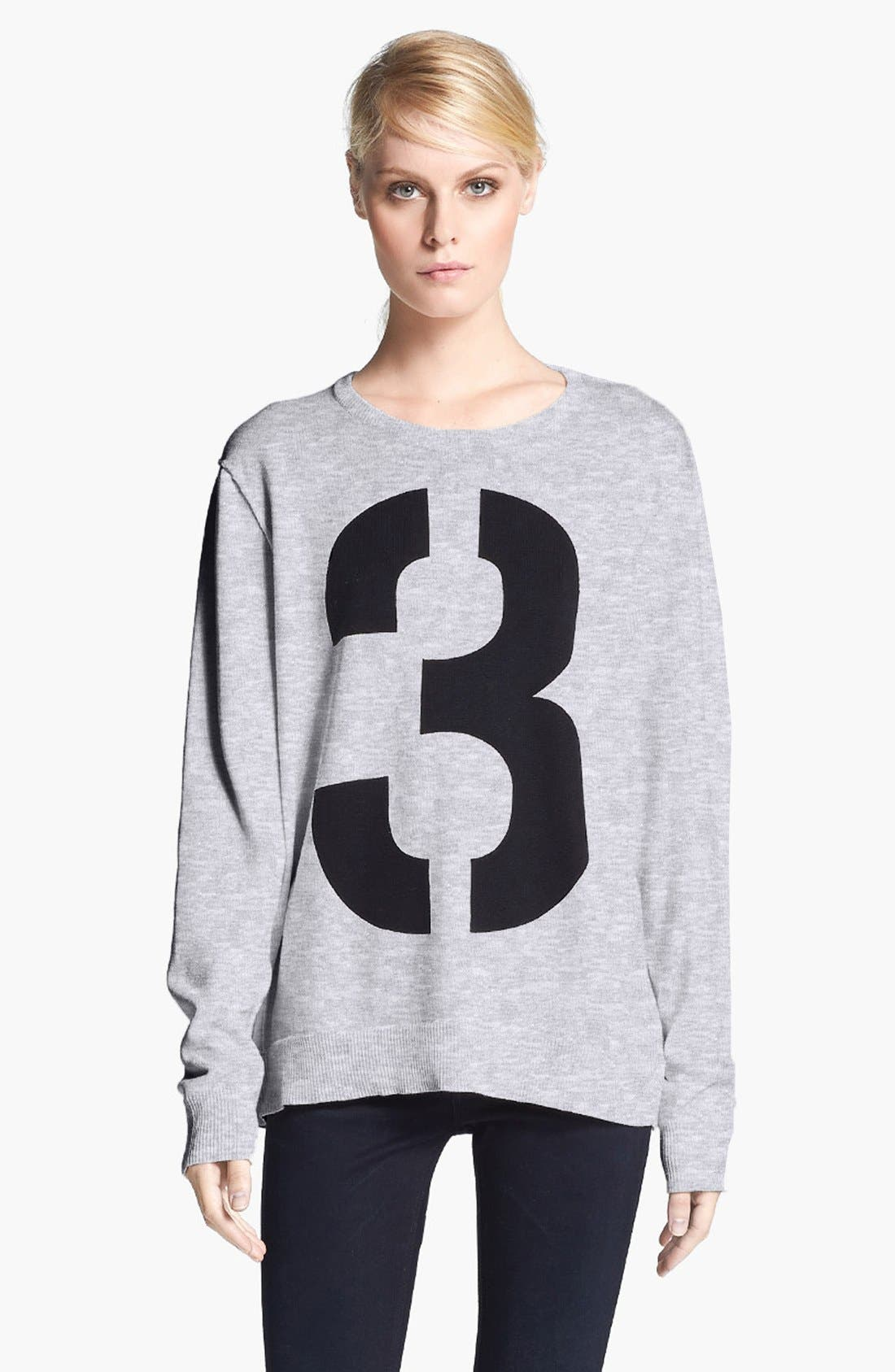 Main Image - rag & bone 'Numbers' Crewneck Sweatshirt