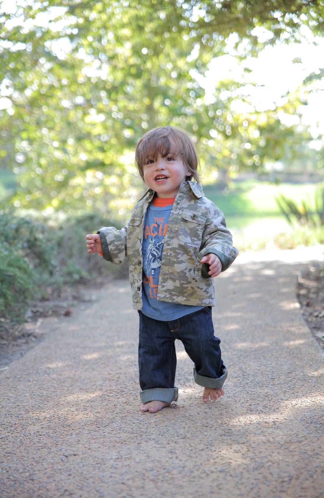 Alternate Image 2  - Peek 'Heath' Camo Jacket (Baby Boys)