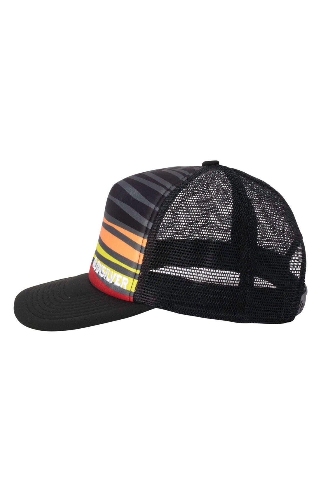 Alternate Image 2  - Quiksilver 'Boards' Trucker Hat (Big Boys)
