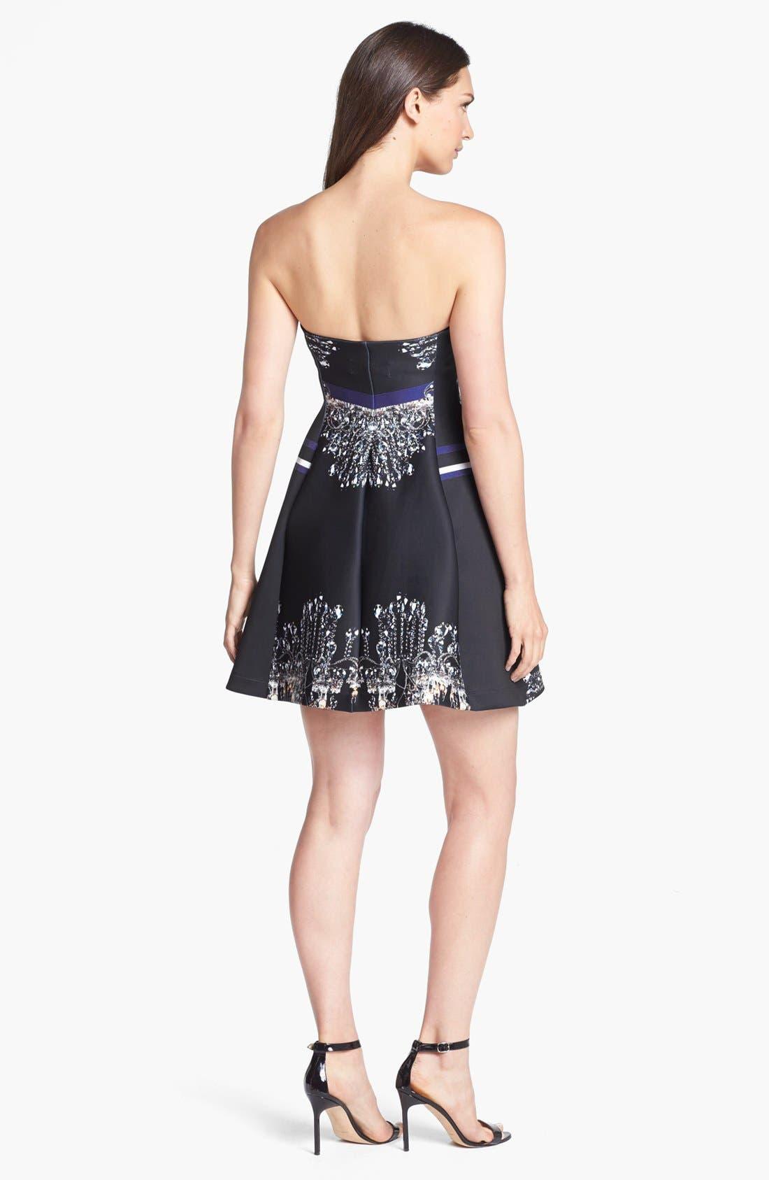 Alternate Image 2  - Clover Canyon 'Russian Enamel' Scuba Fit & Flare Dress