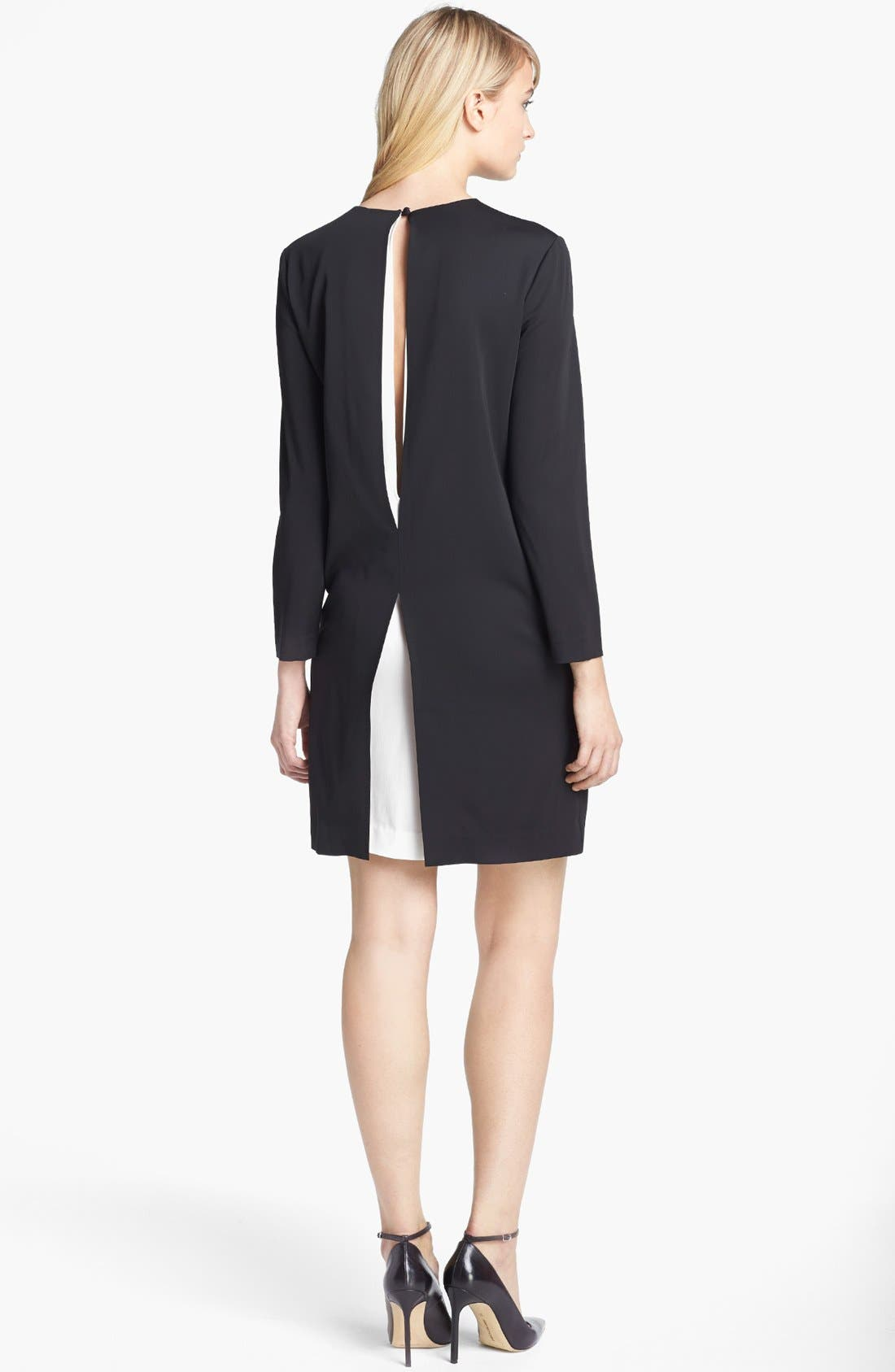 Alternate Image 2  - Theory 'Landain' Stretch Shift Dress