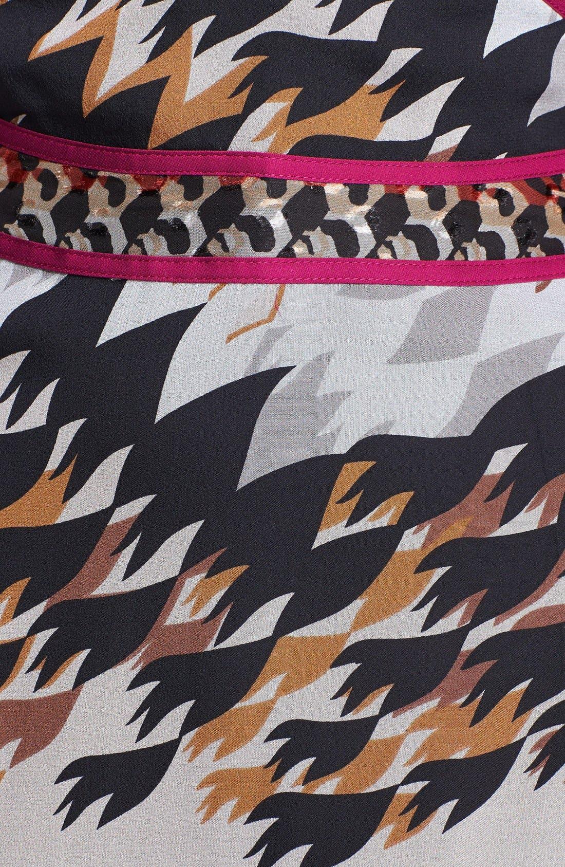 Alternate Image 3  - Diane von Furstenberg 'Poesie' Silk A-Line Dress