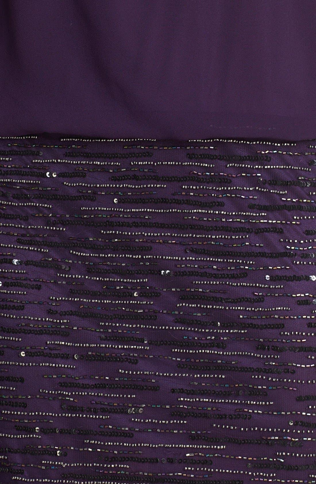 Alternate Image 4  - J Kara Embellished Sleeveless Short Dress